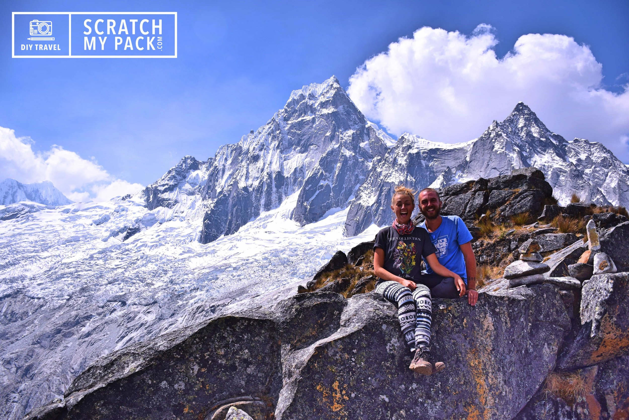 Want this view?  How to hike the Santa Cruz trek in Huaraz, Peru without a guide.