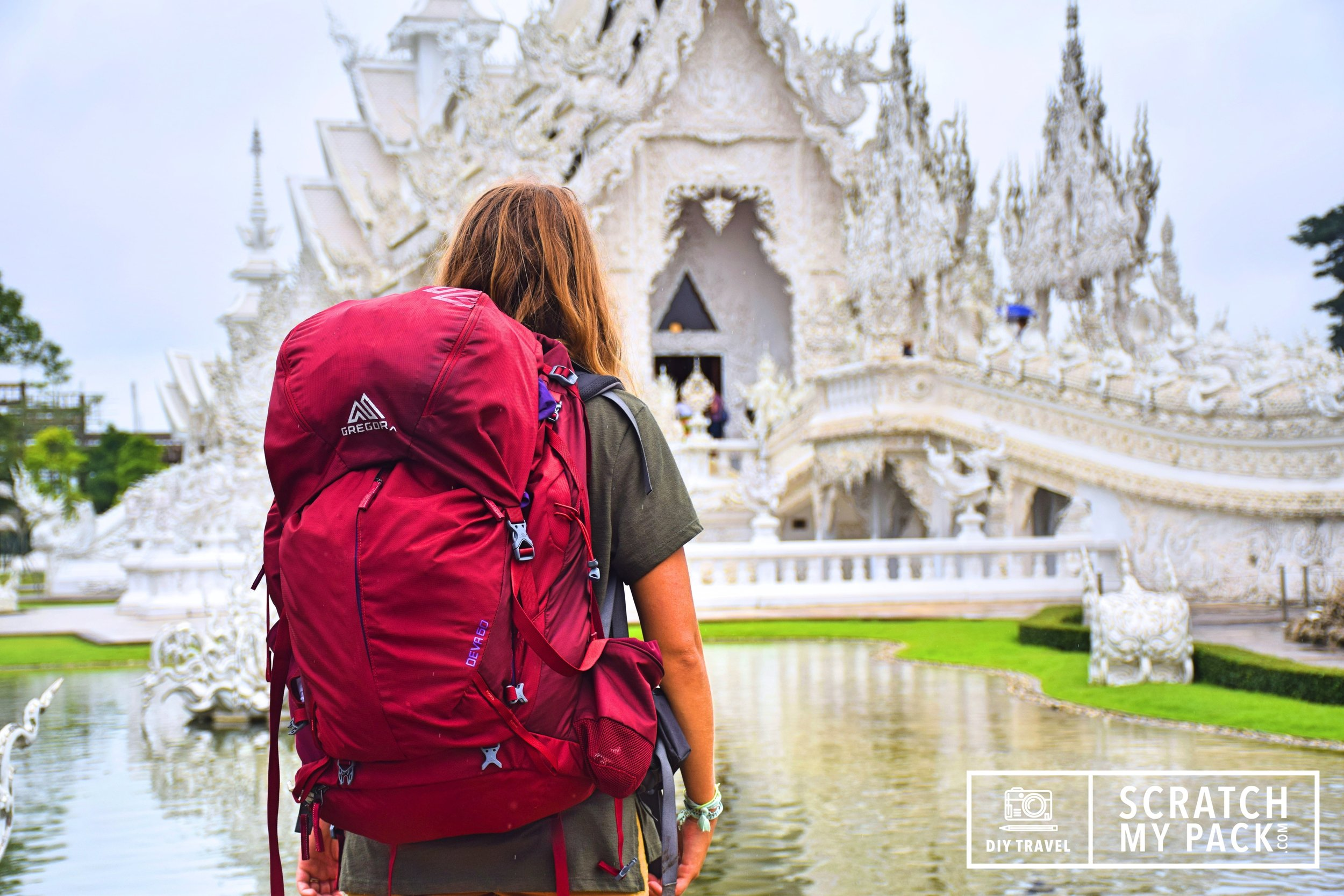 White Temple, Chiang Rai. Are you headed to  Thailand?  Don't worry, we've got you covered.