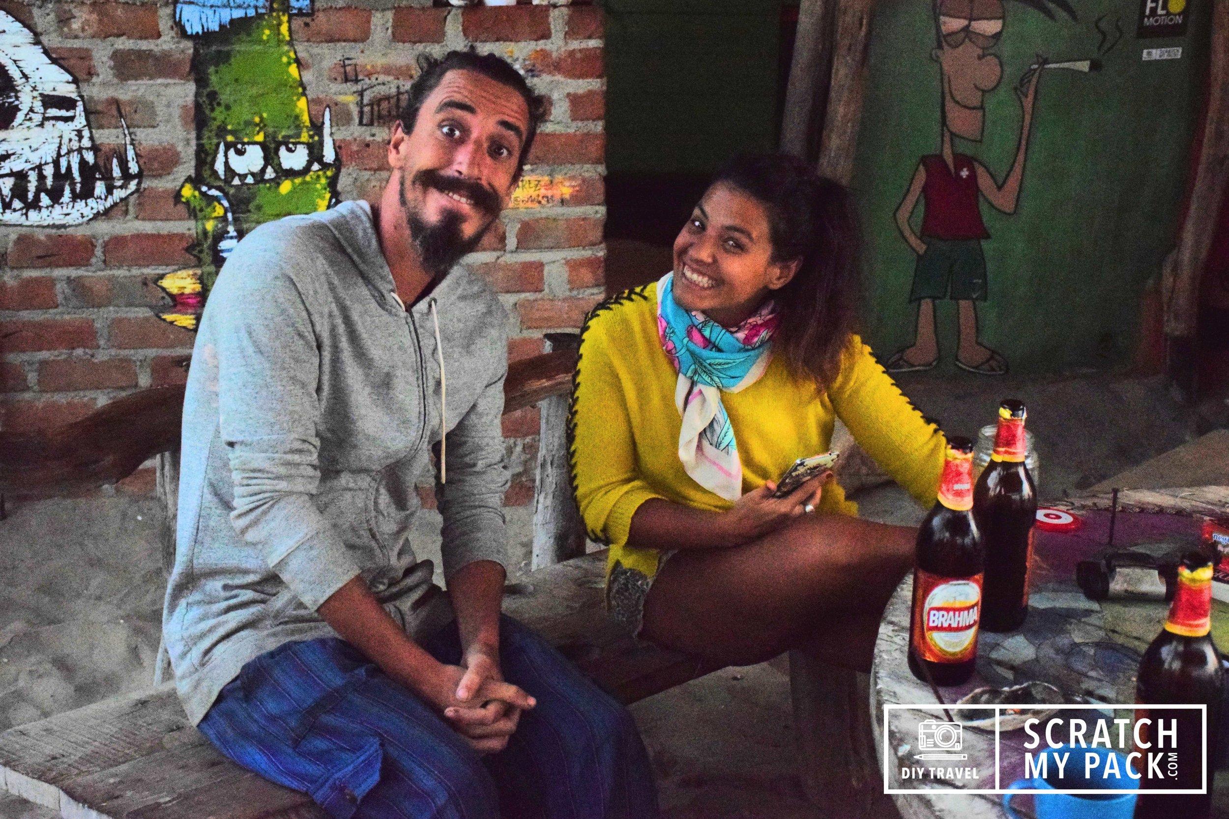 Owners, Rodrigo and wife Di