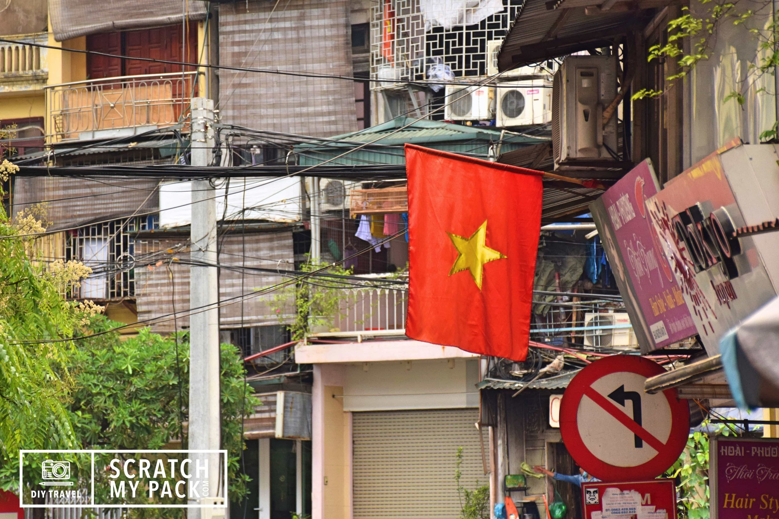 The National Flag of Vietnam