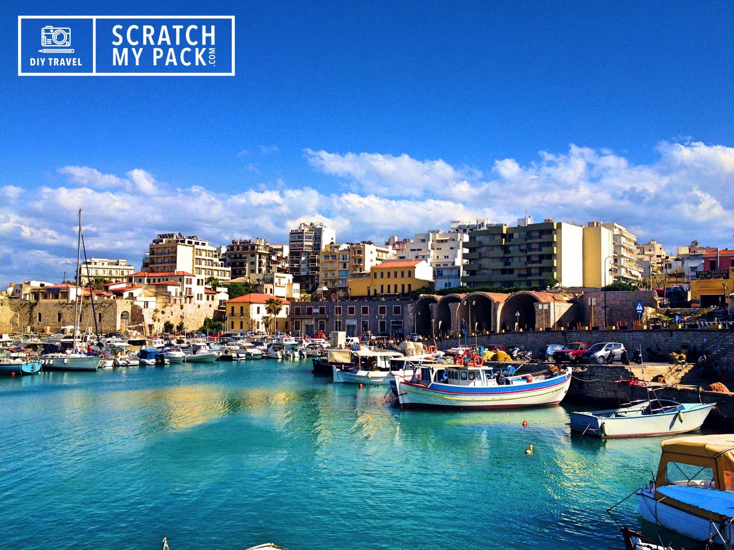 The Old Port of Heraklion, Crete