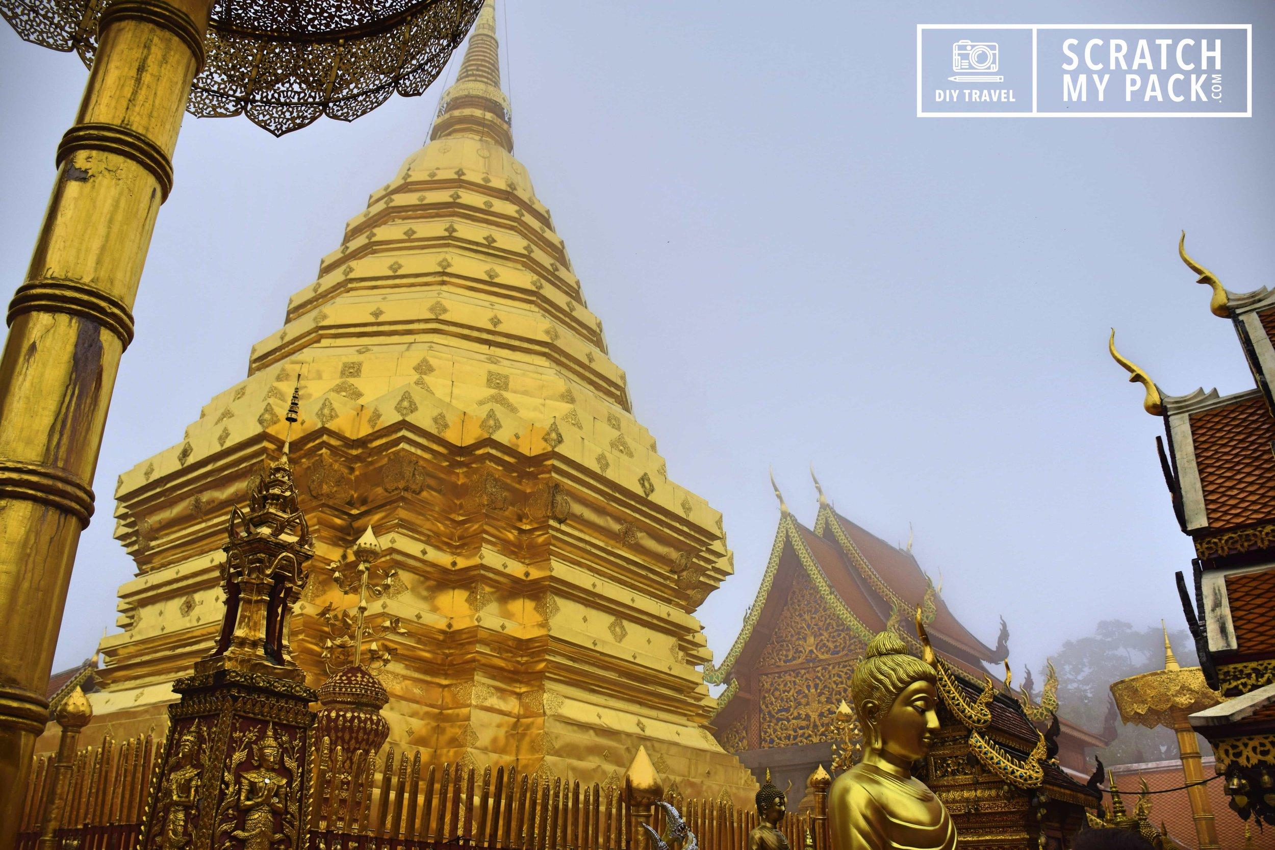 Wat Phra That Doi Suthep Temple, Chiang Mai