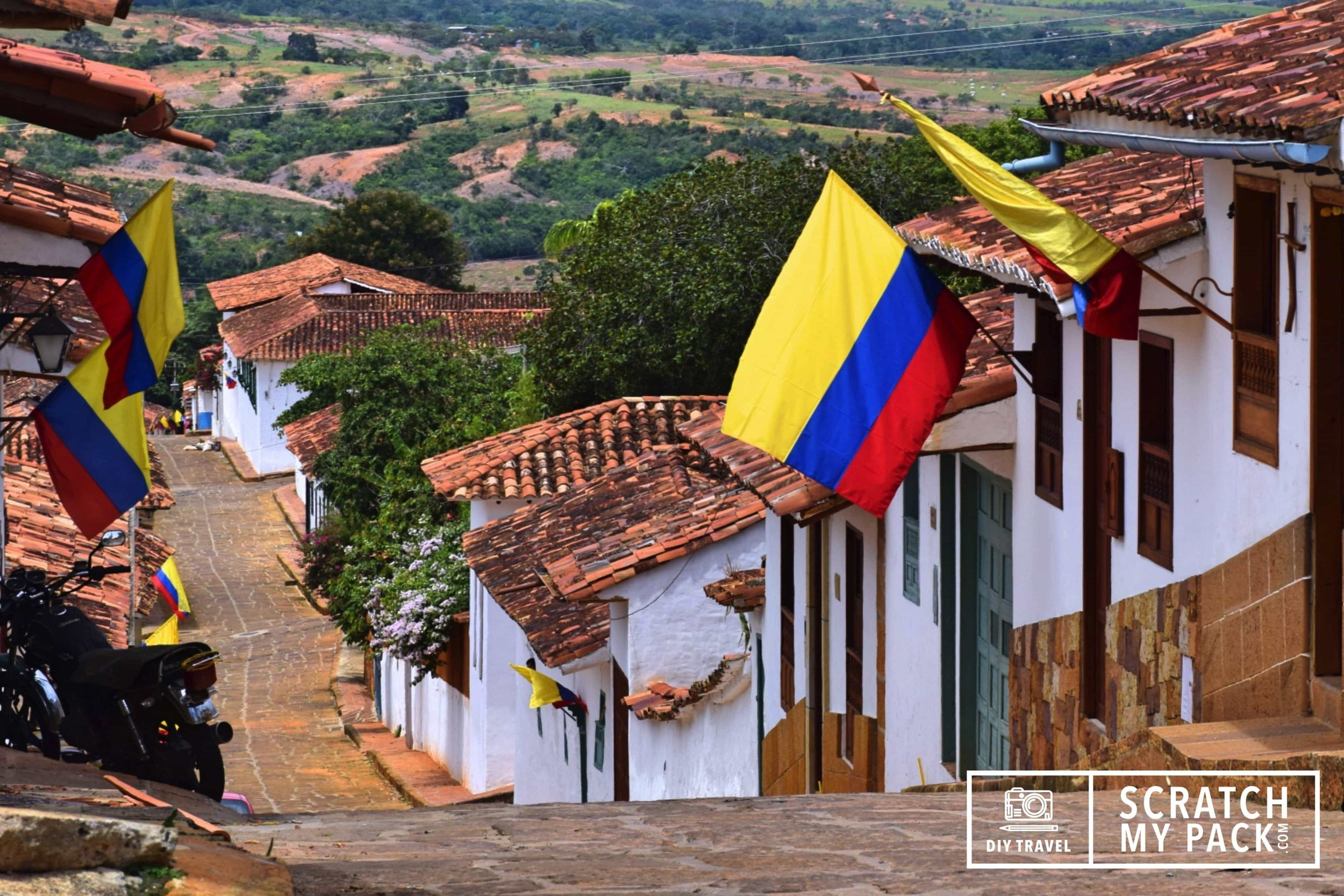 The National Flag of Colombia