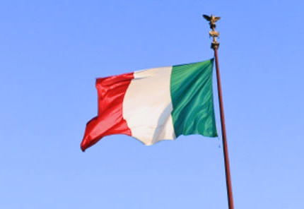 The National of Flag Italy