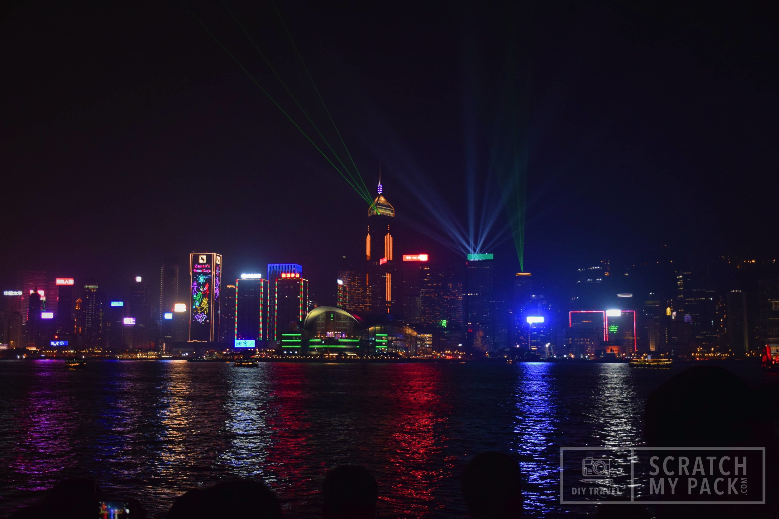 Symphony of Lights (SoL) at Victoria Harbour -   Free to watch  - This has been the icon of Hong Kong and Victoria Harbor since its conception ion 2004. In December 2017, The Hong Kong Philharmonic Orchestra recorded a new musical score for the event, and now has over 40 buildings that contribute to the myriad of searchlights, lasers, LED screens and lighting that illuminates the skyline at 8pm every night.