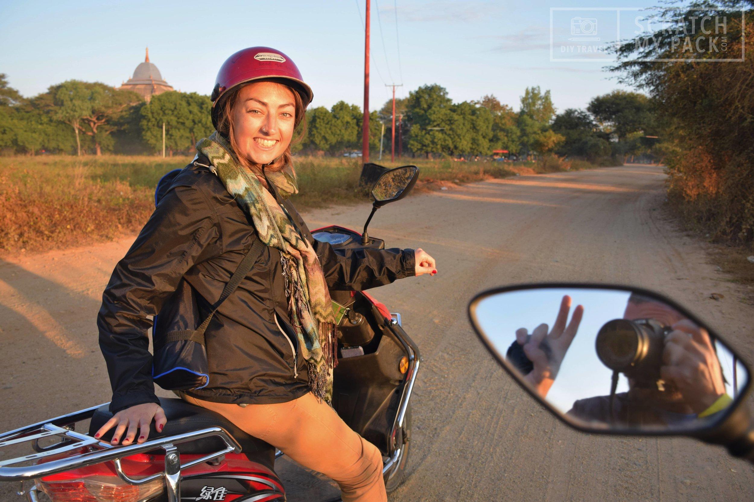 E-Bike in Bagan