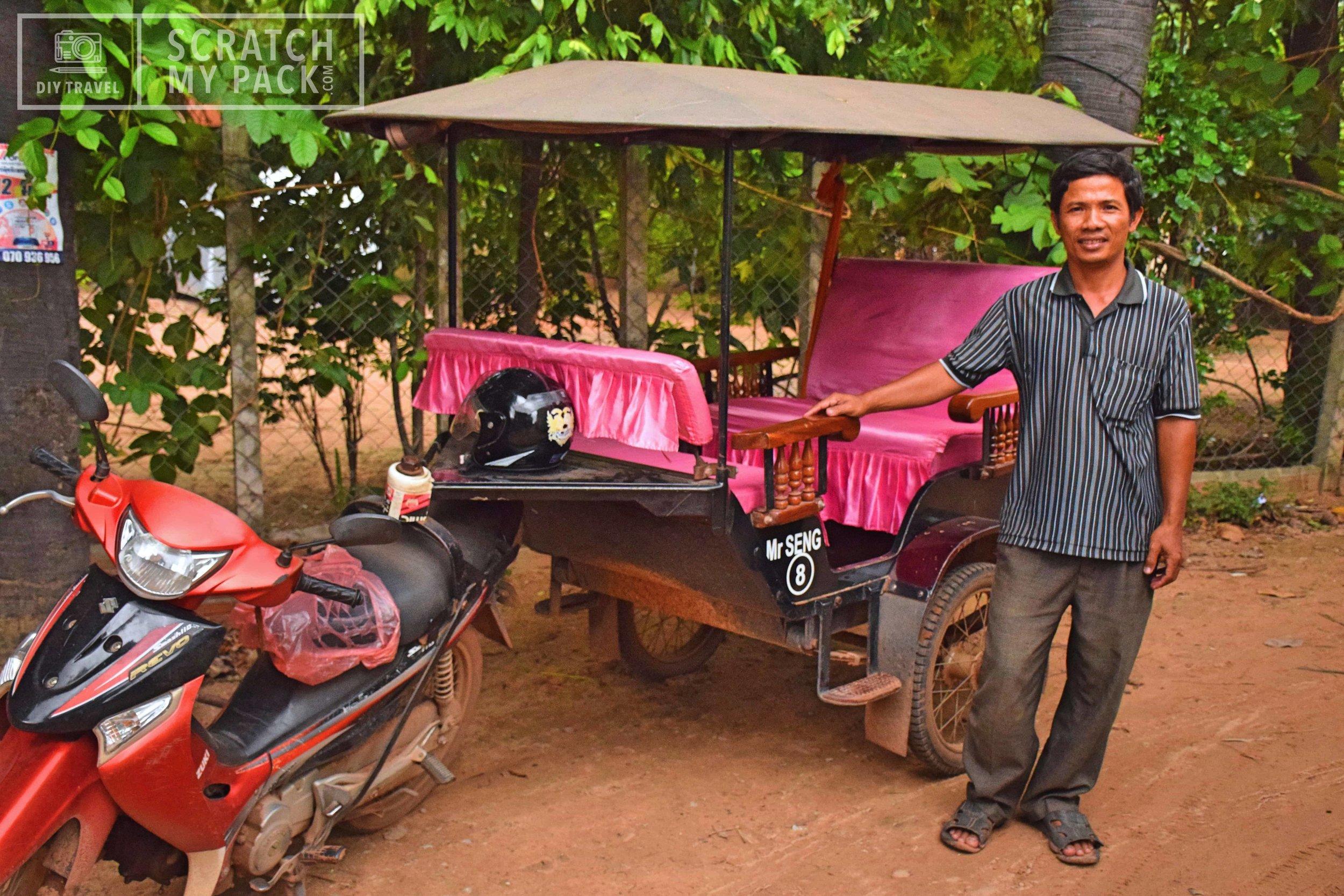 Our Tuk-Tuk Driver in Angkor Wat