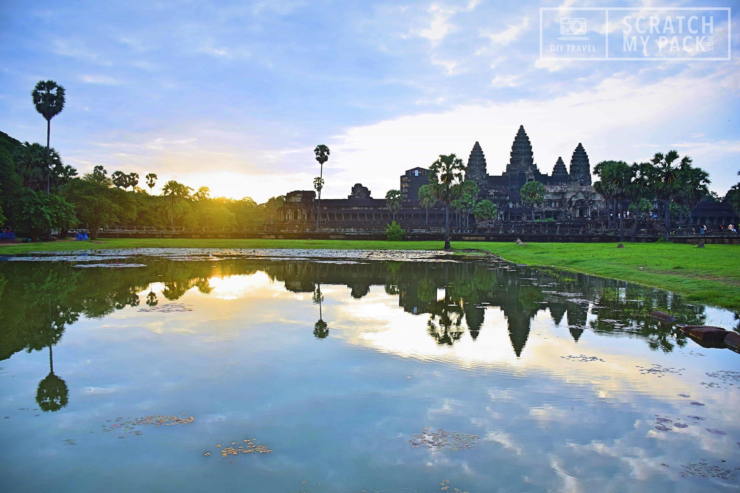 Sunrise over Ankgor Wat Temple