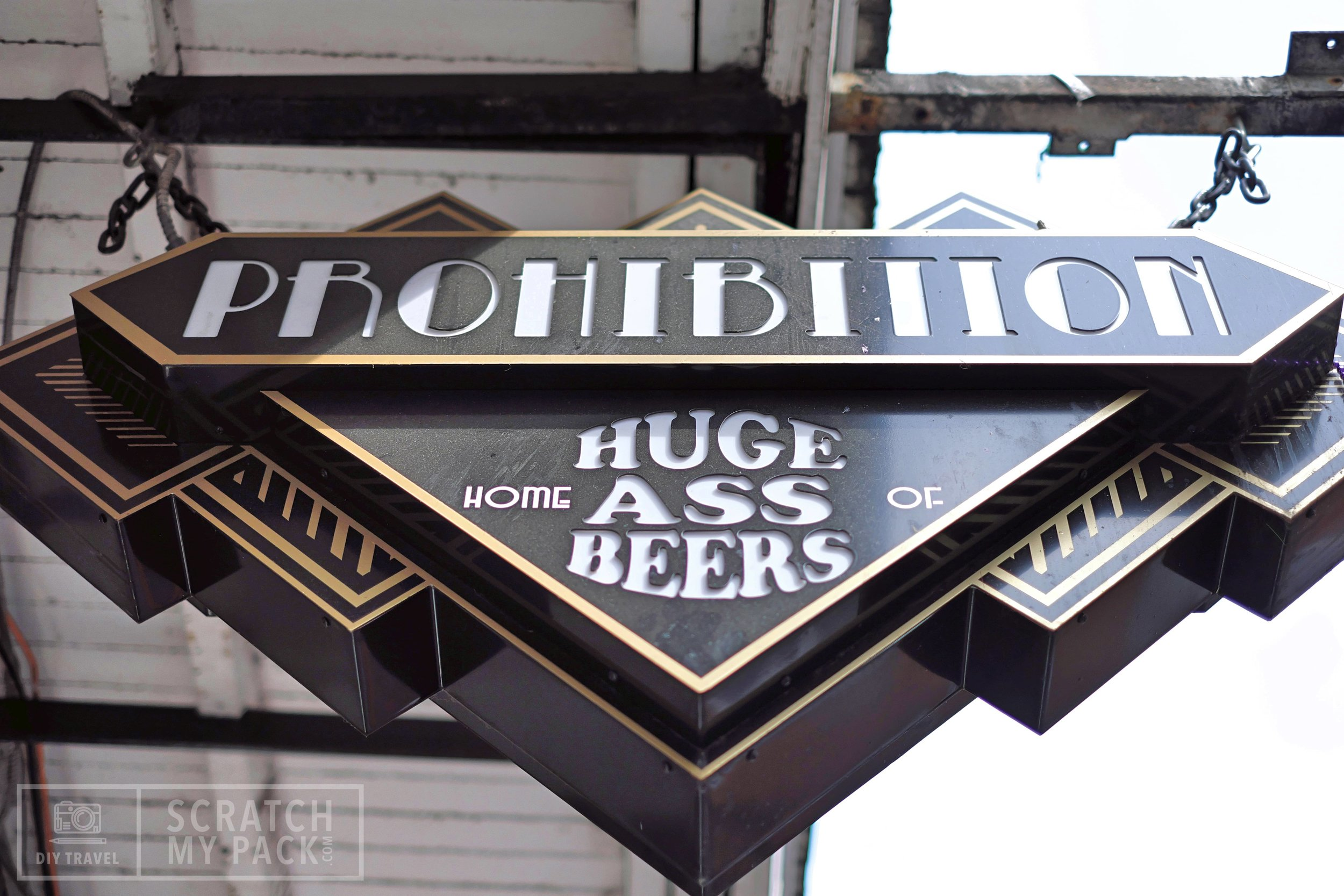 """Huge Ass Beer  - """"You can't visit Bourbon Street without having a delicious, thirst quenching Huge Ass Beer. As the biggest, best, tastiest beer in New Orleans, it's easy to see why Huge Ass Beers has become iconic - it's an experience all in its own.""""  Check it out  here !"""