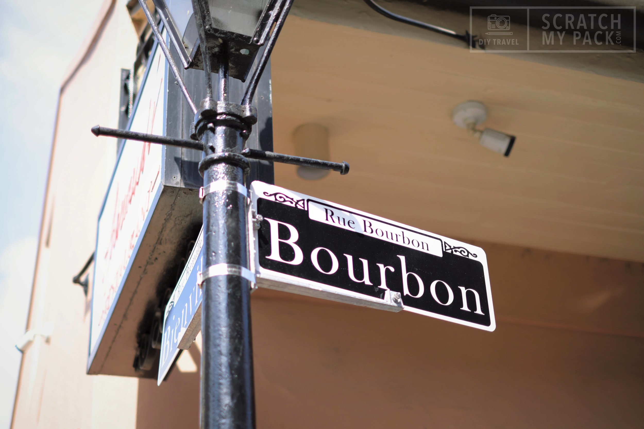 """Bourbon Street  -  Free to visit -  Largely quiet during the day, Bourbon Street comes alive at night, particularly during the French Quarter's many festivals. Most famous of these is the annual Mardi Gras celebration, when the streets teem with thousands of people. Local open container laws allow drinking alcoholic beverages on the Quarter's streets. The most heavily visited section of Bourbon Street is """"upper Bourbon Street"""", known for its bars, restaurants, souvenir shops, and strip clubs. """"Lower Bourbon Street"""" caters to New Orleans' thriving gay community, featuring the city's largest gay nightclub, the Bourbon Pub."""