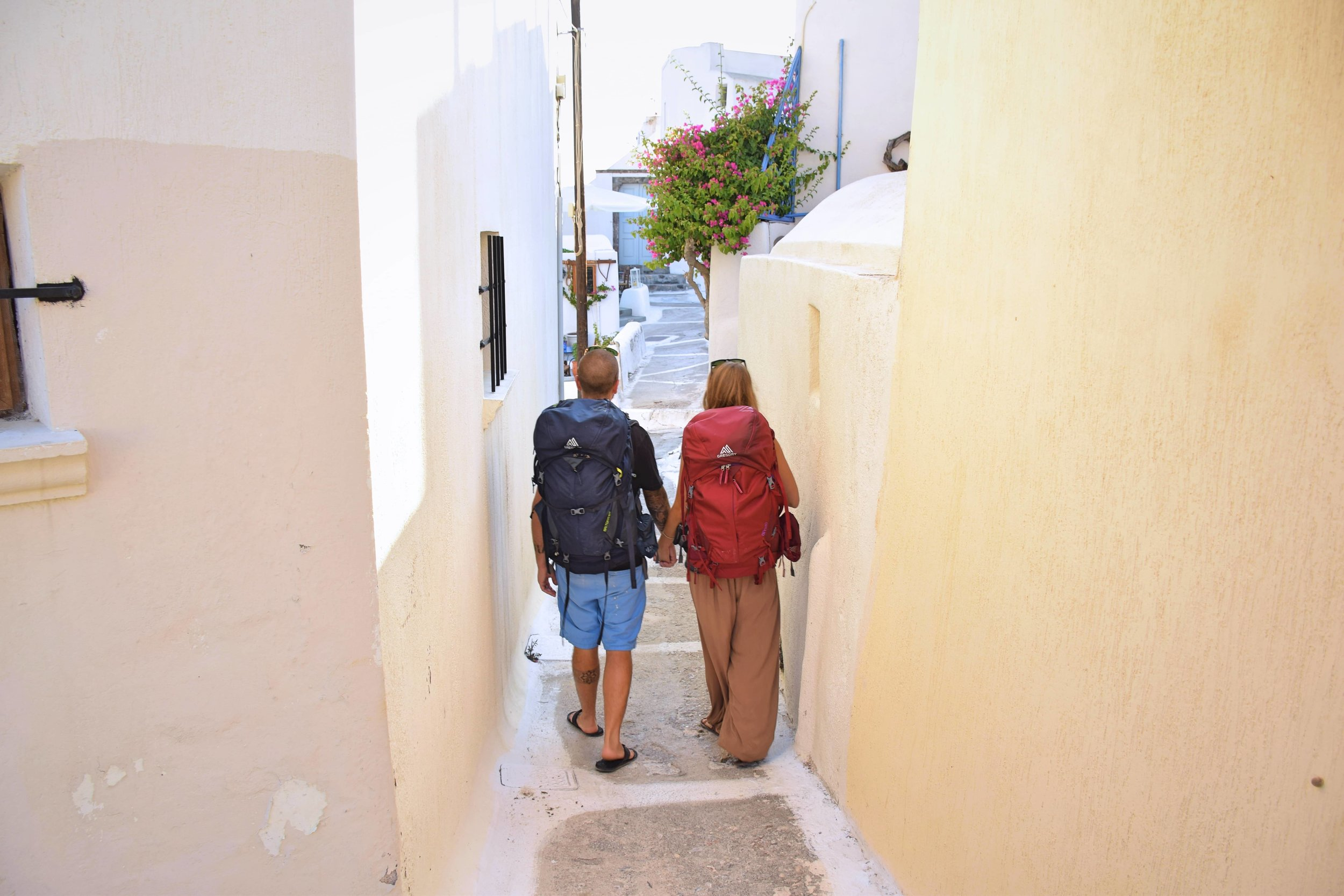 Walk -  As silly as this may sound, one of the best things to do on the island is to walk around through all the side streets, and hidden pathways, exploring - the narrow streets severely limit motor traffic as they were originally built for foot traffic only.
