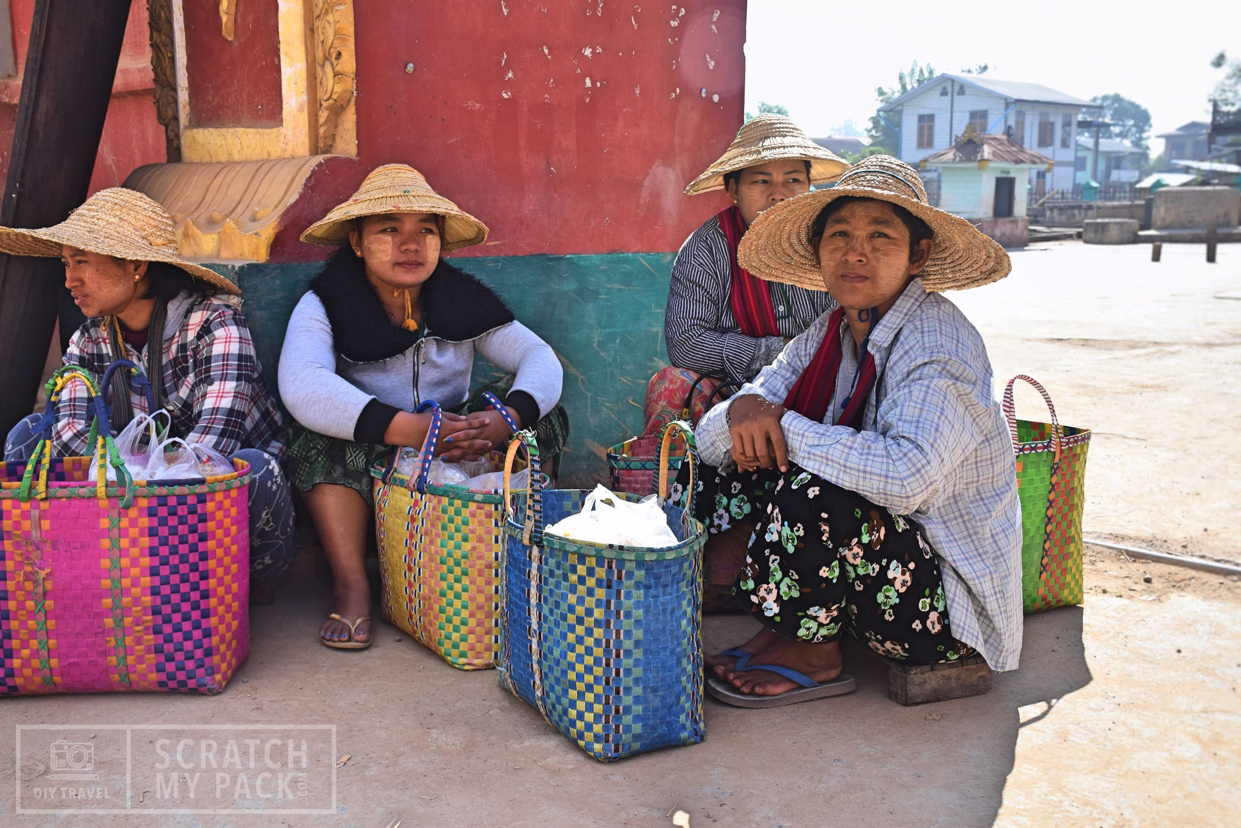 Locals of Nyaung Shwe