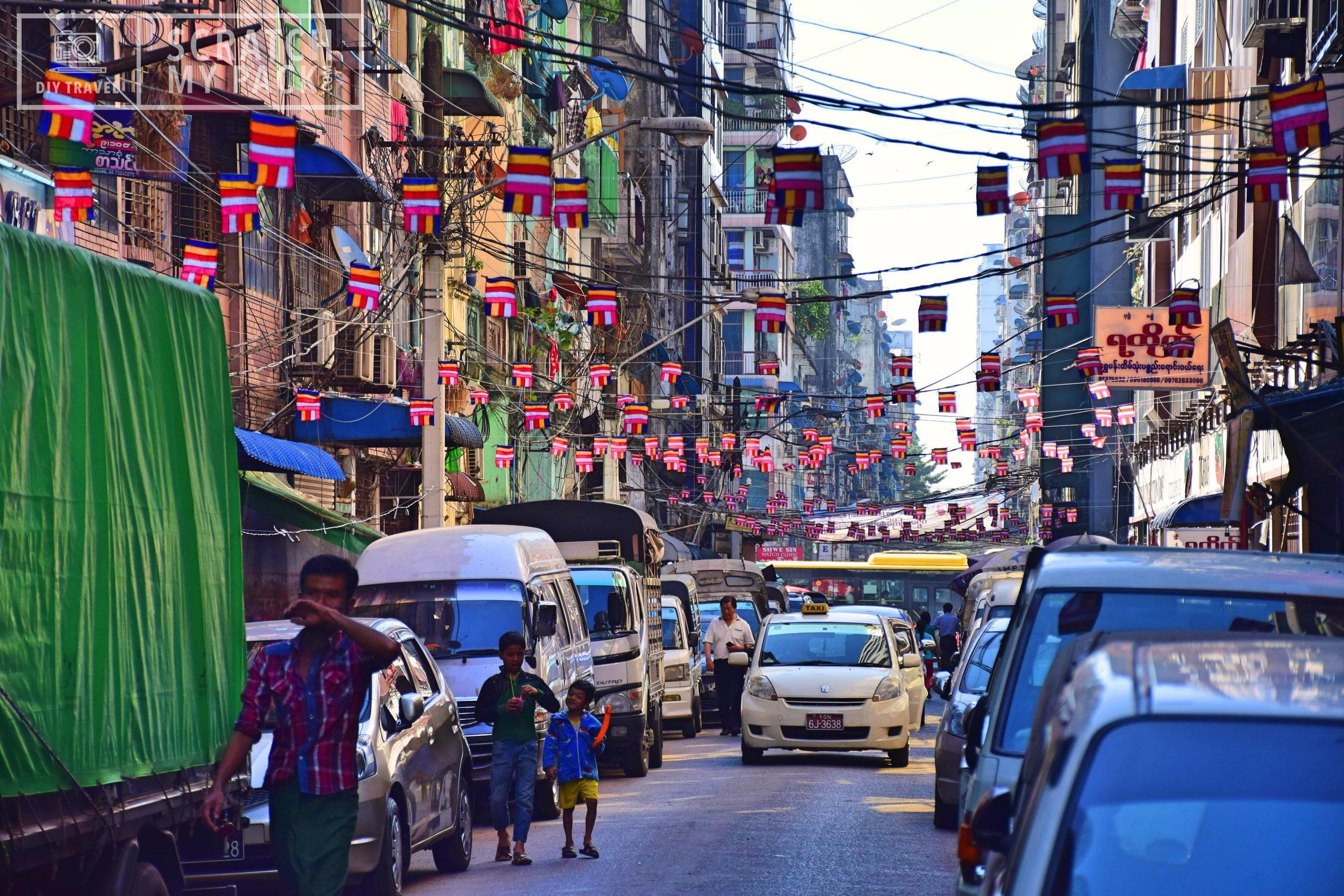 Locals of Yangon