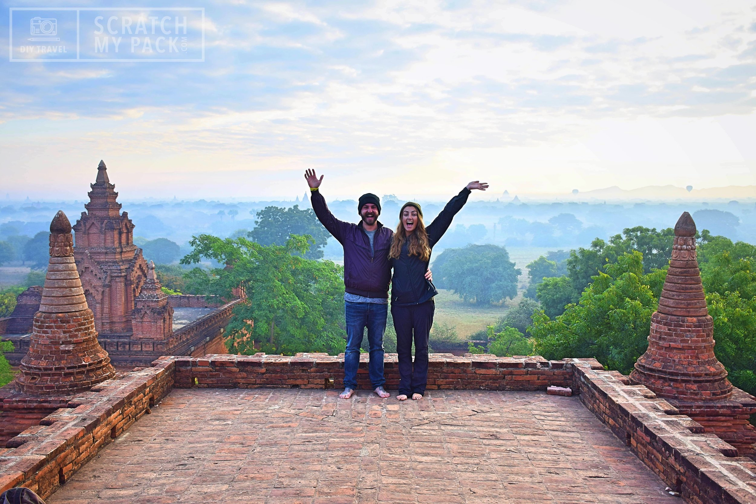 Bagan: Watch the sunrise over the valley of 4000 ancient pagodas