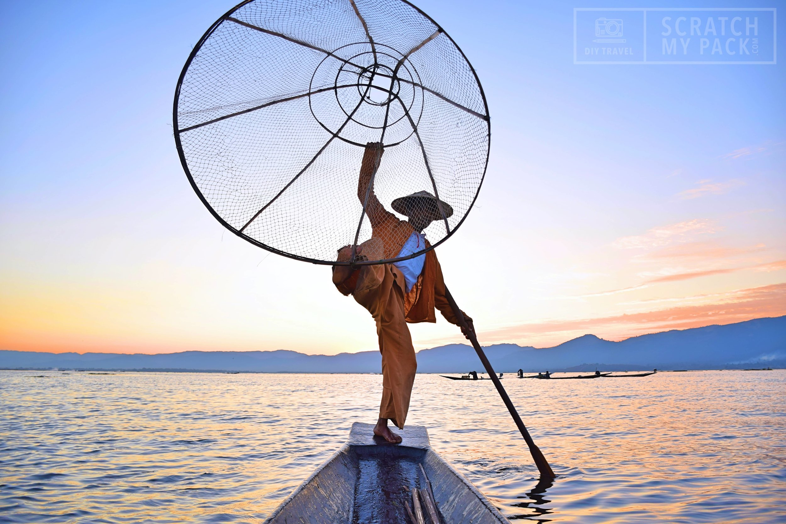 Inle Lake: Get up close with the fisherman