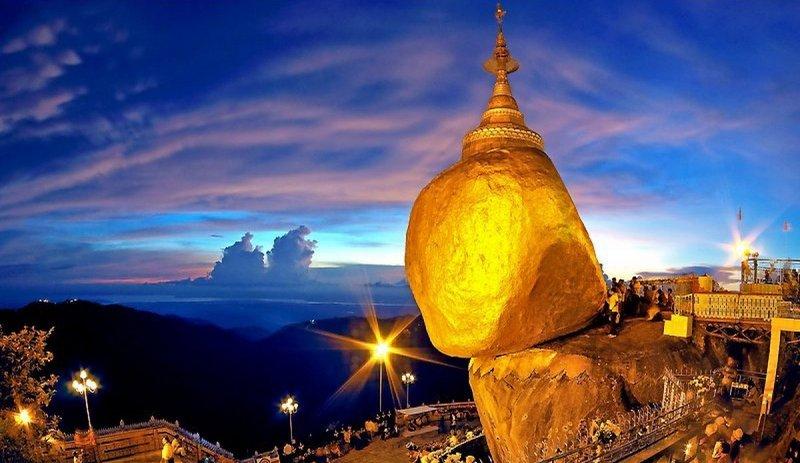 Golden Rock: Unique Buddhist pilgrimage site just outside Yangon - Photo Credit:  ExoticMyanmarTravel