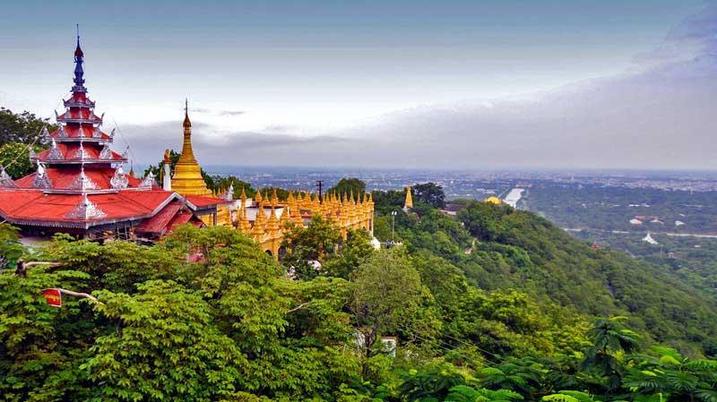 Mandalay: Climb Mandalay Hill - (Photo Credit:  TakeThatVacation)