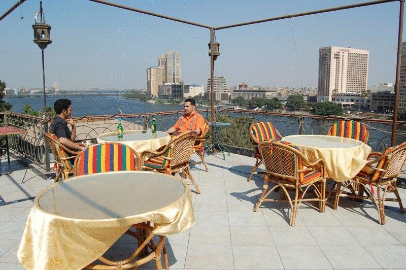 Cafes and Shisha - Rooftop (Zamalek): $$  - Stay up late with friends and watch the sun set over the Nile from this rooftop perch. Order a shisha and some snacks, and you will be set for hours.