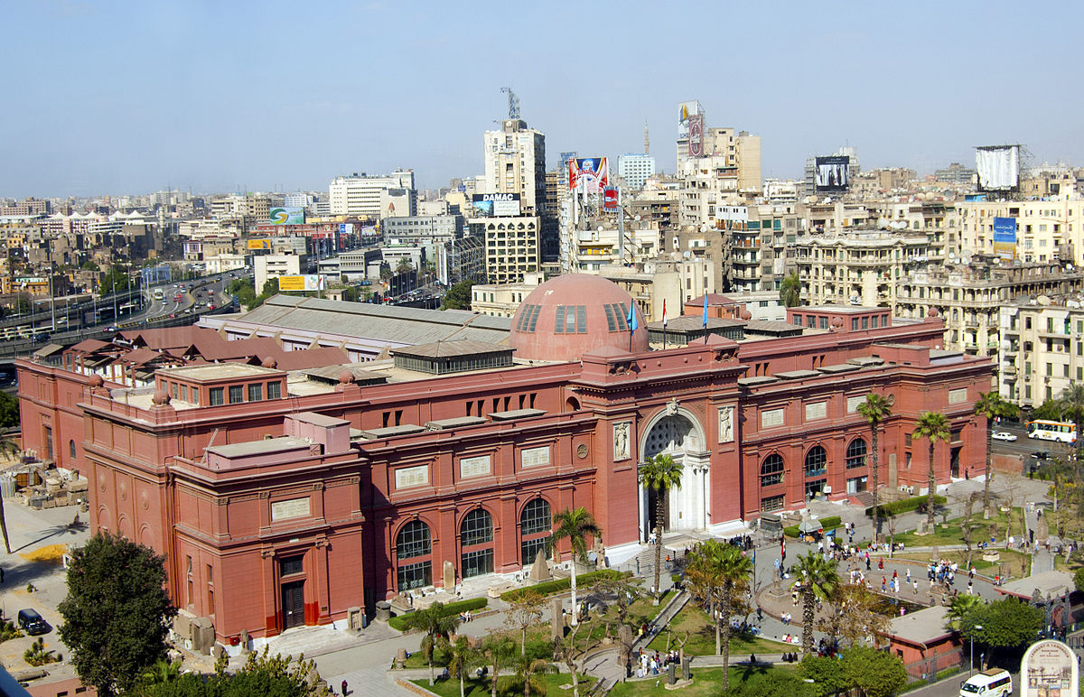 The Egyptian Museum  – One of the most incredible things about the Egyptian Museum is the sheer amount of Ancient Egyptian relics, statues, and art that cover every single imaginable surface in this old British colonial looking building. The museum was founded in 1857 by French Egyptologist August Mariette. It is worth hiring a guide for this museum because the collection is poorly labeled, and giving the guide a clear limit on the amount of time that you would like your tour to be (you could spend days in here and barely scratch the surface!). This museum sits in Tahrir square, where the 2011 Revolution took place.