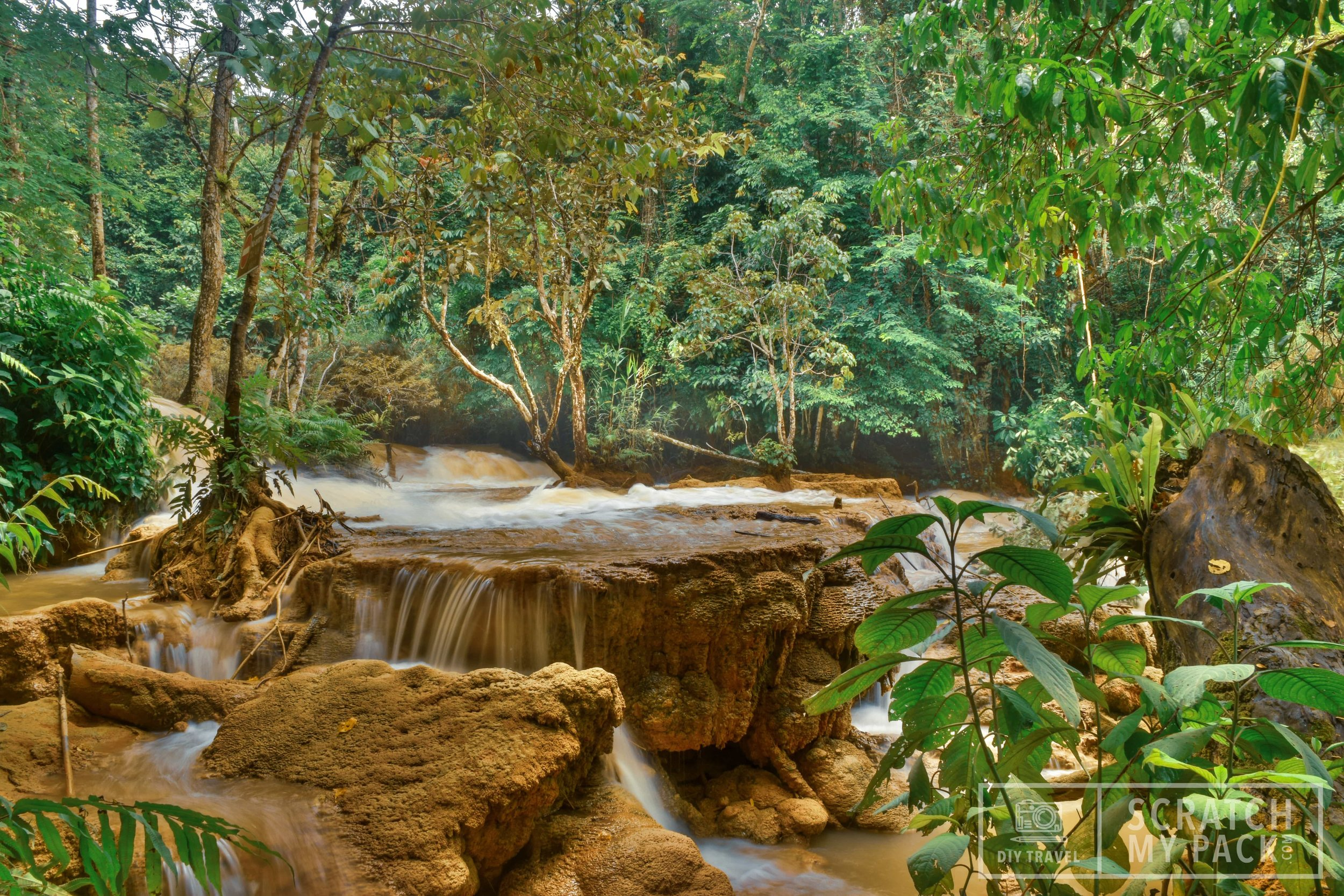Luang Prabang: Waterfall Hike: This is an activity you will surely do when you visit this city. Wether you book a tour through your hotel or from any of the dozens of people on the street offering tours, this waterfall is an awesome half day adventure!