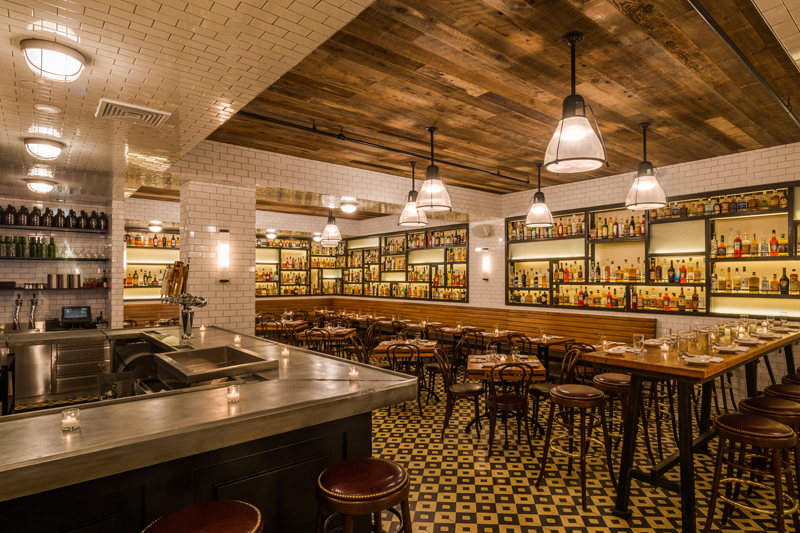 THE SMITH.  It's a great location for tourists and locals alike. Whether you're looking for pastas, burgers, oysters or sticky toffee pudding, The Smith has got you covered. It's also a good way to have a nice night out without breaking the bank. ($45 per person)