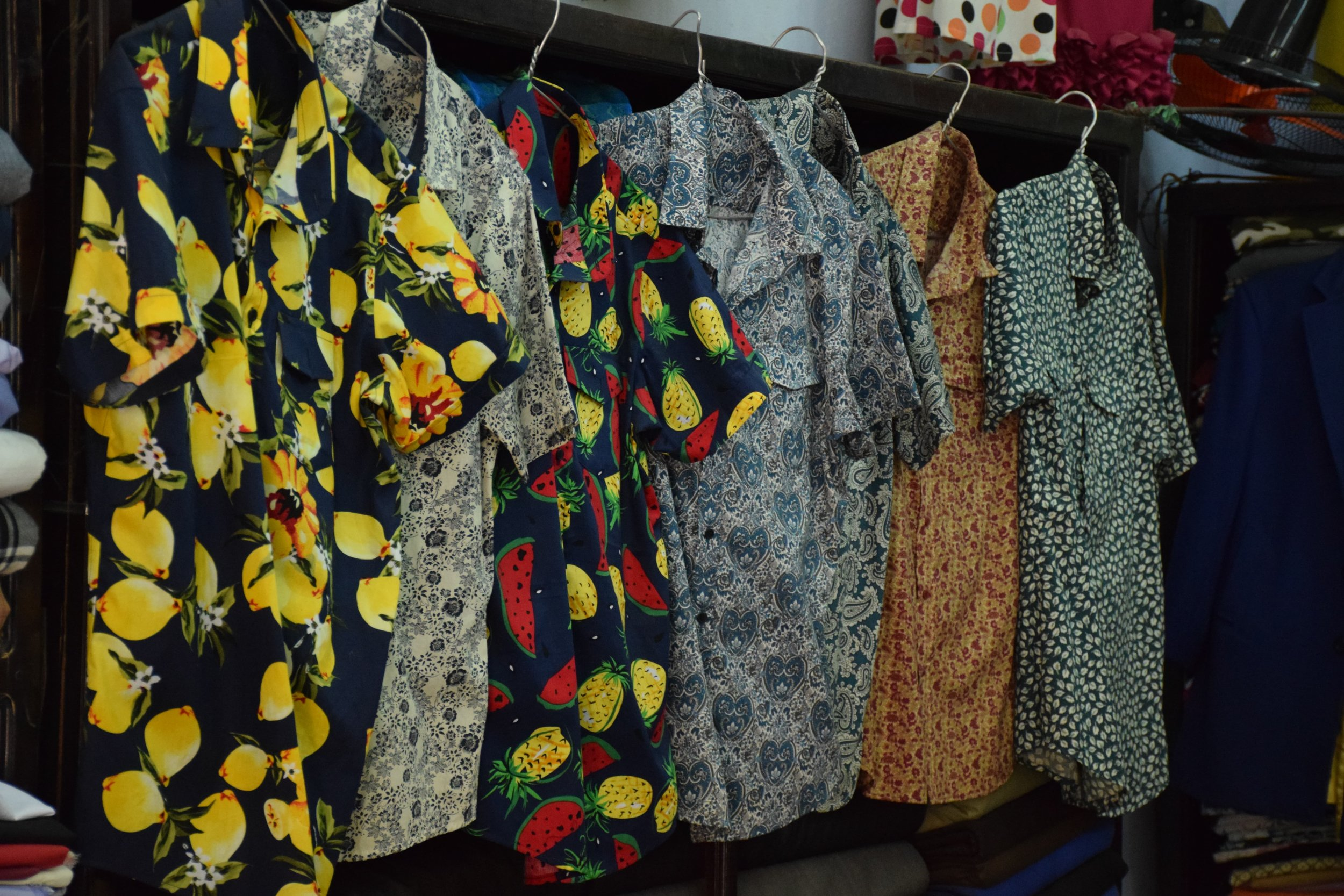 You can get your very own banana shirt or other crazy print shirt made for super cheap.