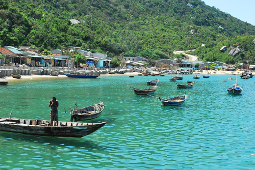 Cham Islands   -  These islands are directly off the coast of Hoi An - 20 min speedboat ride - and are certainly worth a day trip! There are no cars allowed on the islands and Chinese are also not welcome (as this is a disputed island). This island is small, quiet, peaceful, and gorgeous - A UNESCO Biospere Reserve. Grab a boat for $3 in the morning from Hoi An, and take a $3 boat back in the evening from Cham Island.