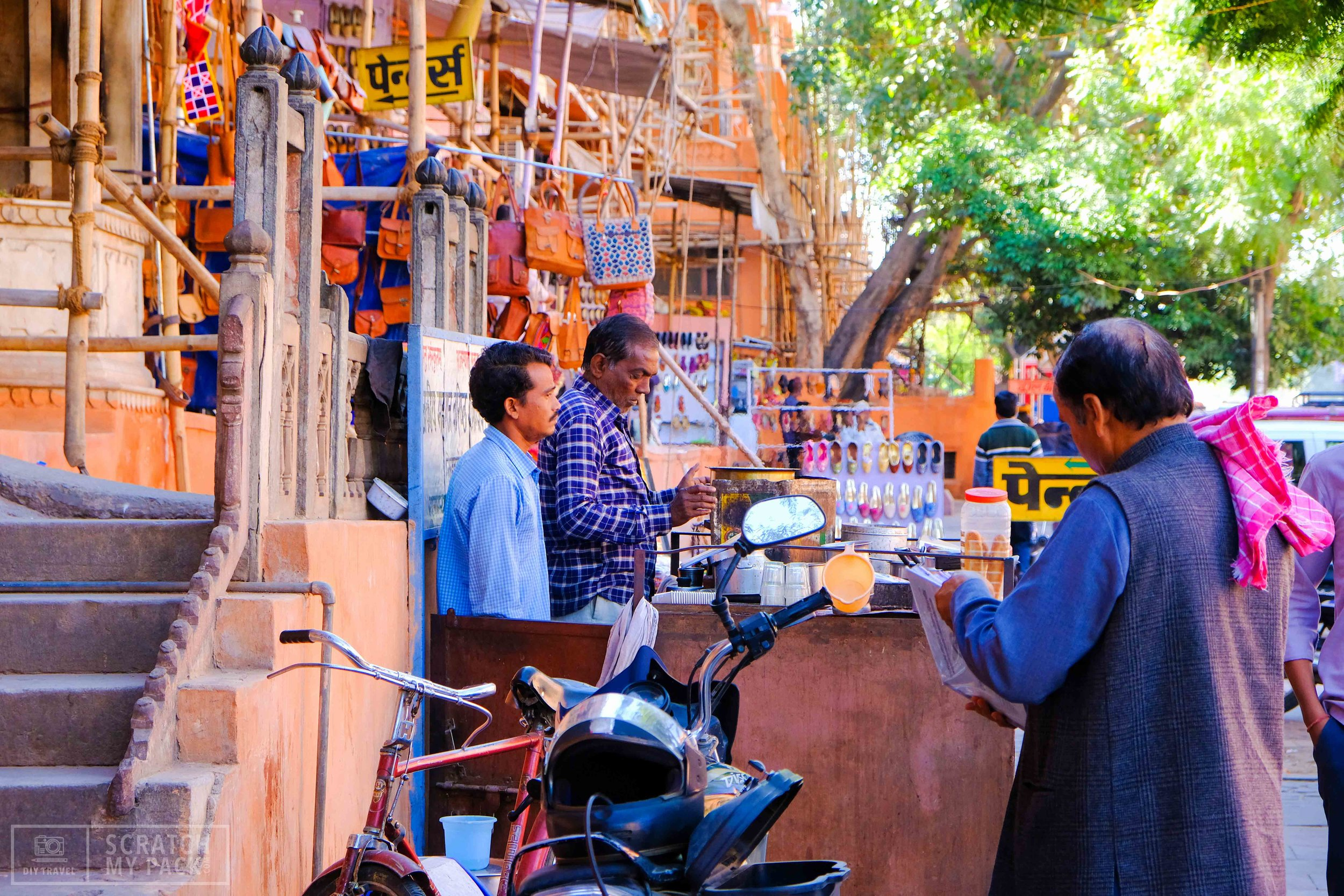 Bazaar's throughout the gated city -   Free to visit -  Jaipur is known around India as a great city for anything shopping related. Here you can get anything made; from shoes to hats to a 5 piece suit all made in 1 day. Spend a few hours strolling the shops and finding unique souvenirs. Don't forget your camera!