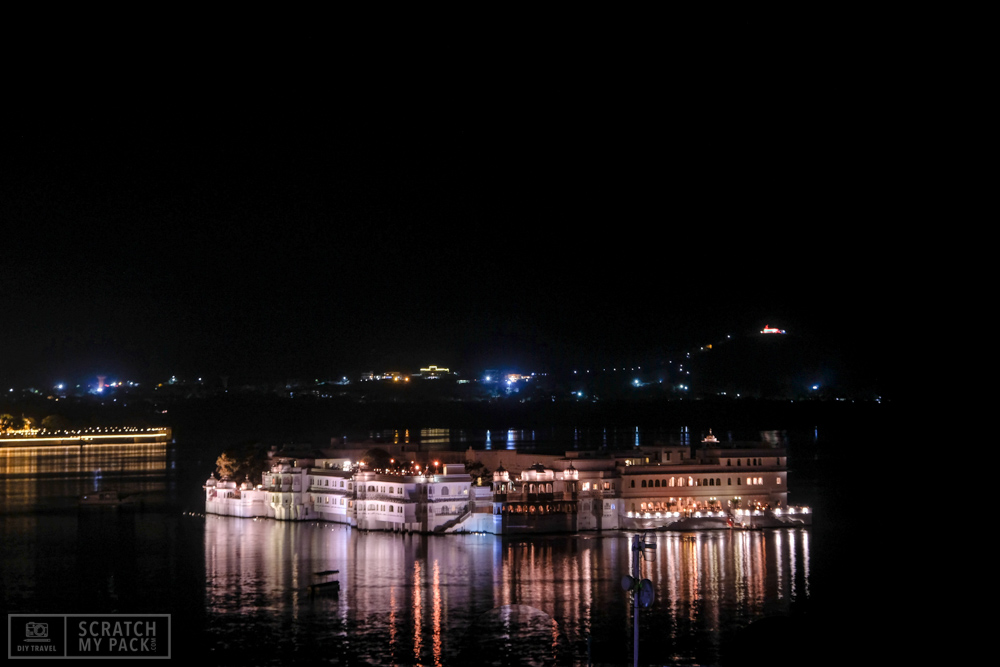"""Jag Mandir  -  325INR including the boat ride -  Also called the """"Lake Garden Palace"""", this was used by the royal family as a summer resort and pleasure palace for holding parties. This palace can only be reached by boat from the Bansi Ghat jetty - next to the Lake Palace in Udaipur."""