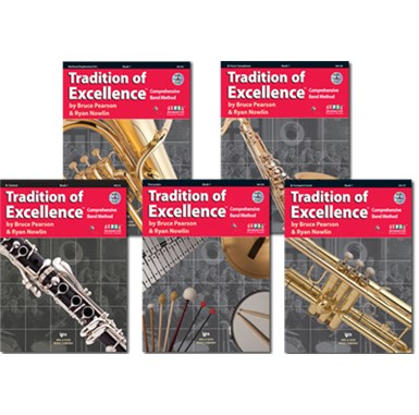 The book used for Fifth Grade Beginning Band is the Tradition of Excellence, Book 1 (2nd Edition).