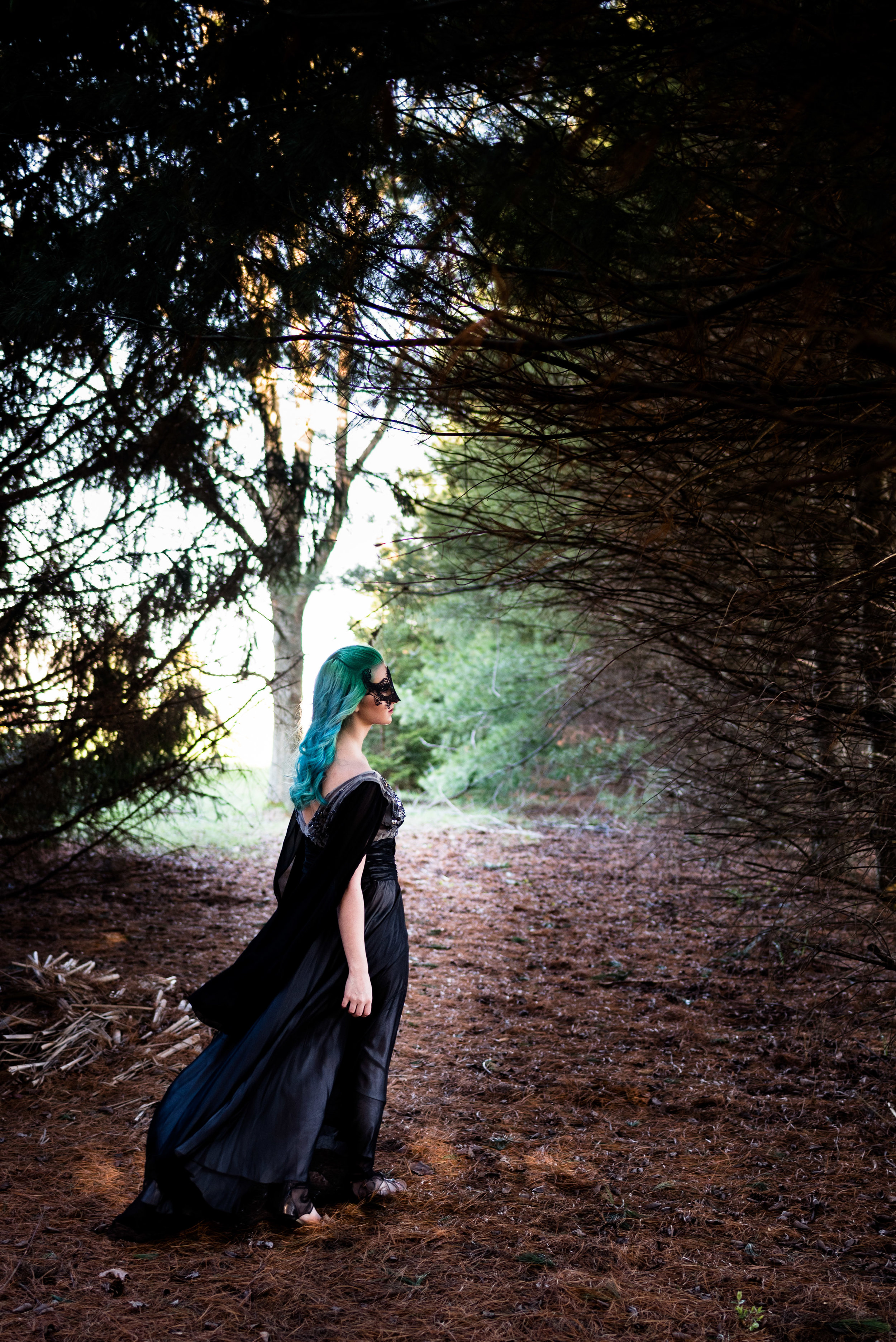 toledo model themed photo shoot black dress holloween-6.jpg