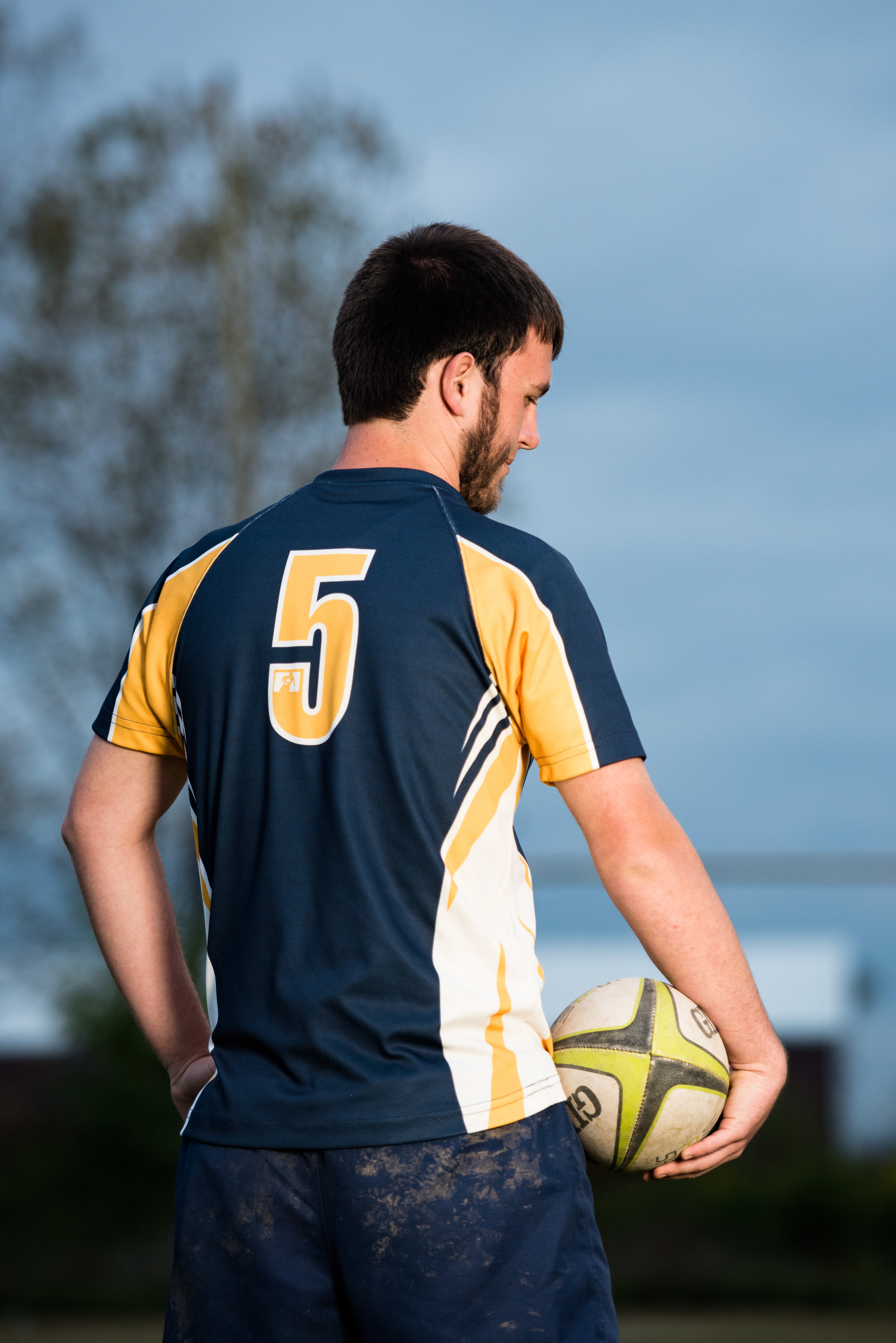 rugby senior photography