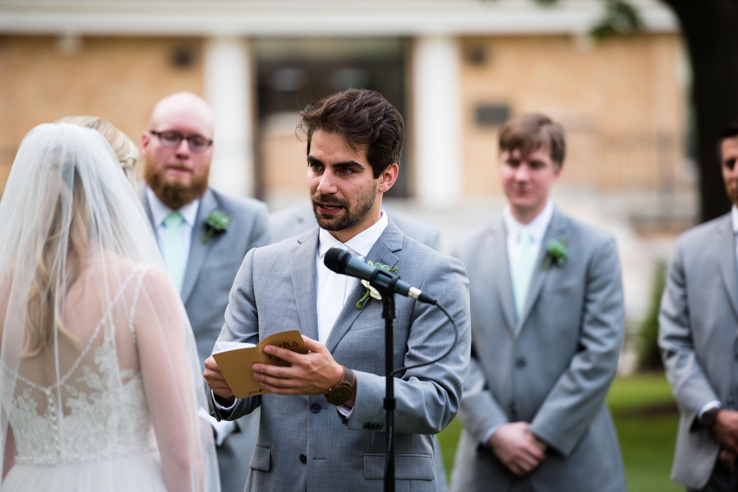 ohio wedding vows