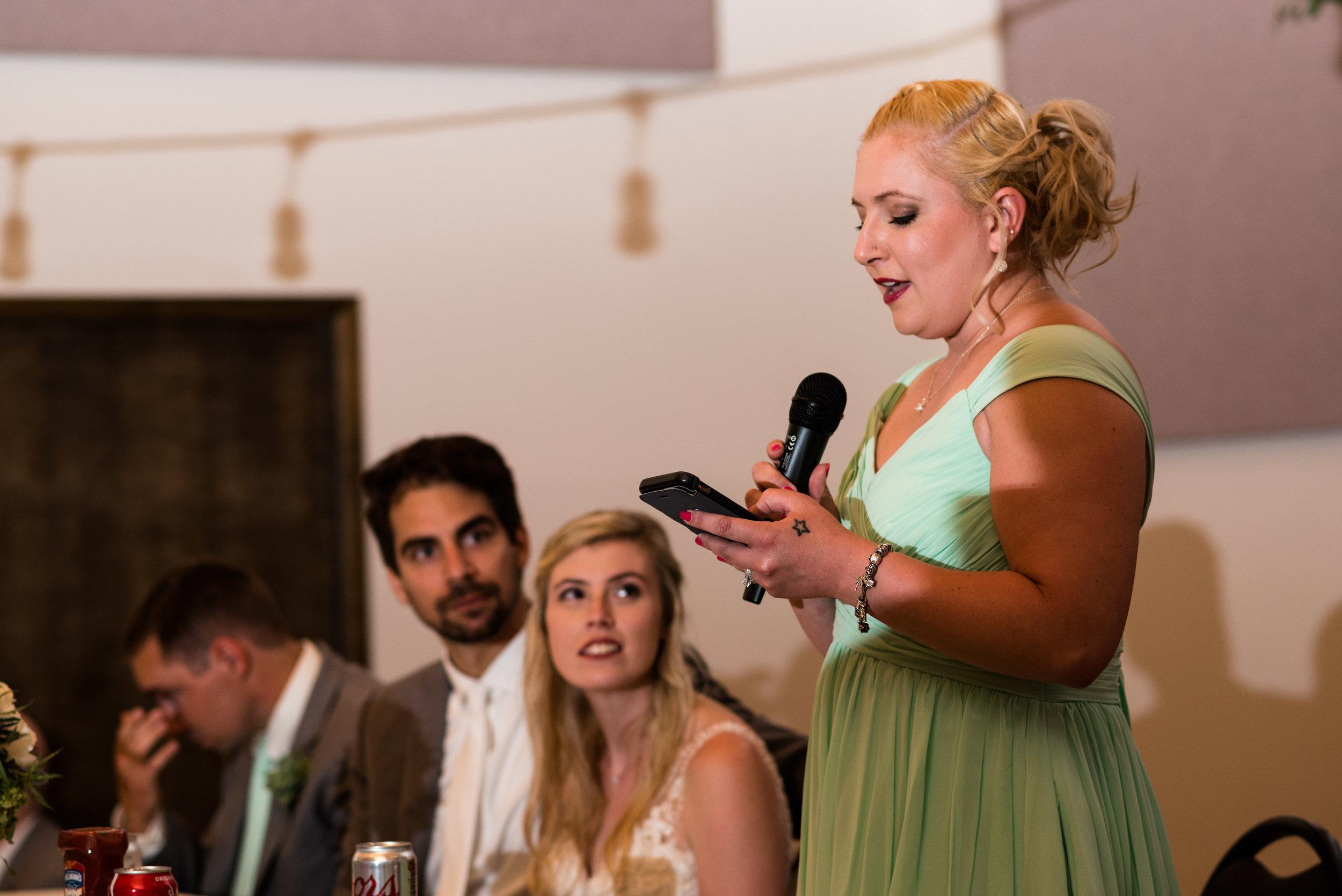 bowling green wedding reception