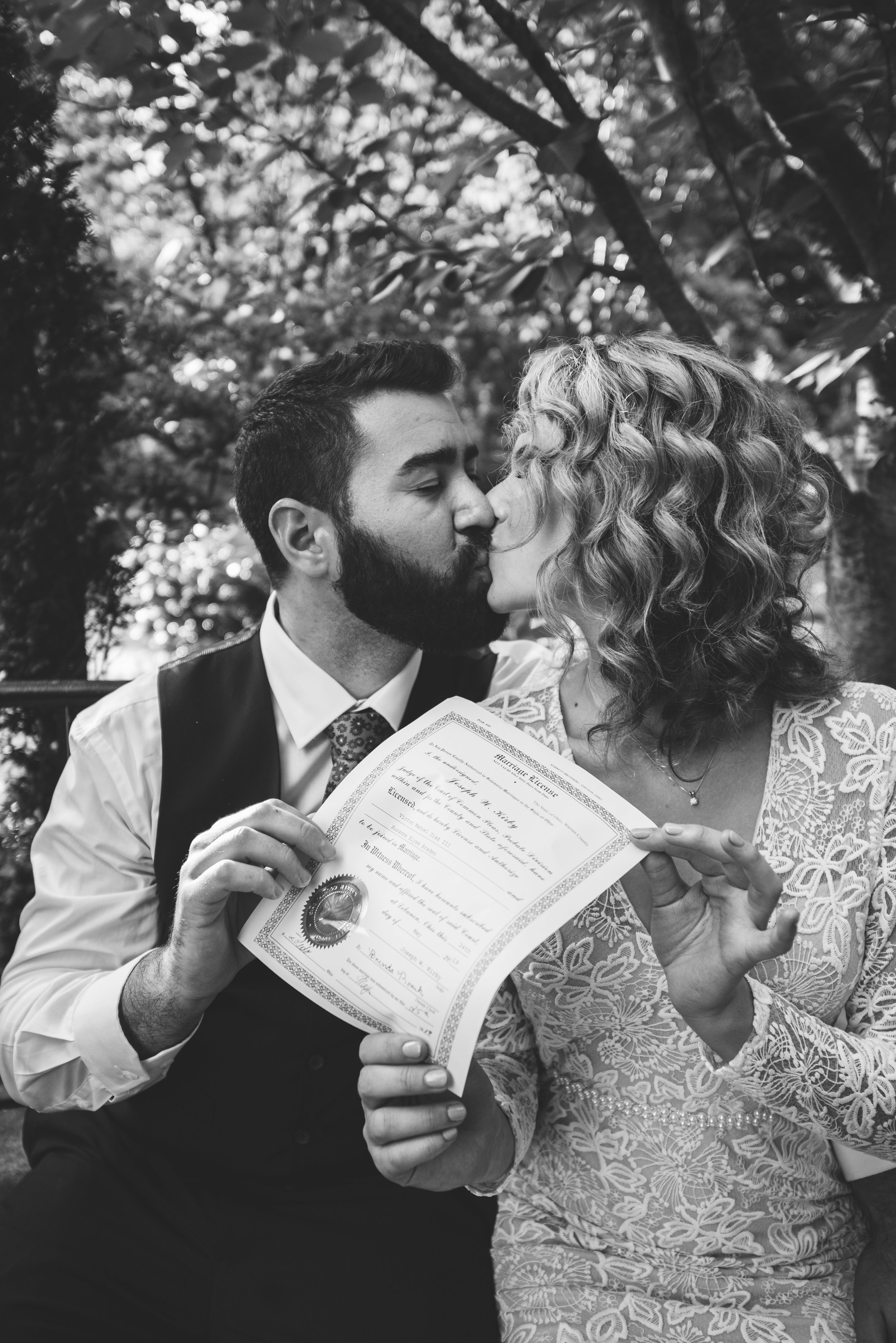 marriage license toledo wedding