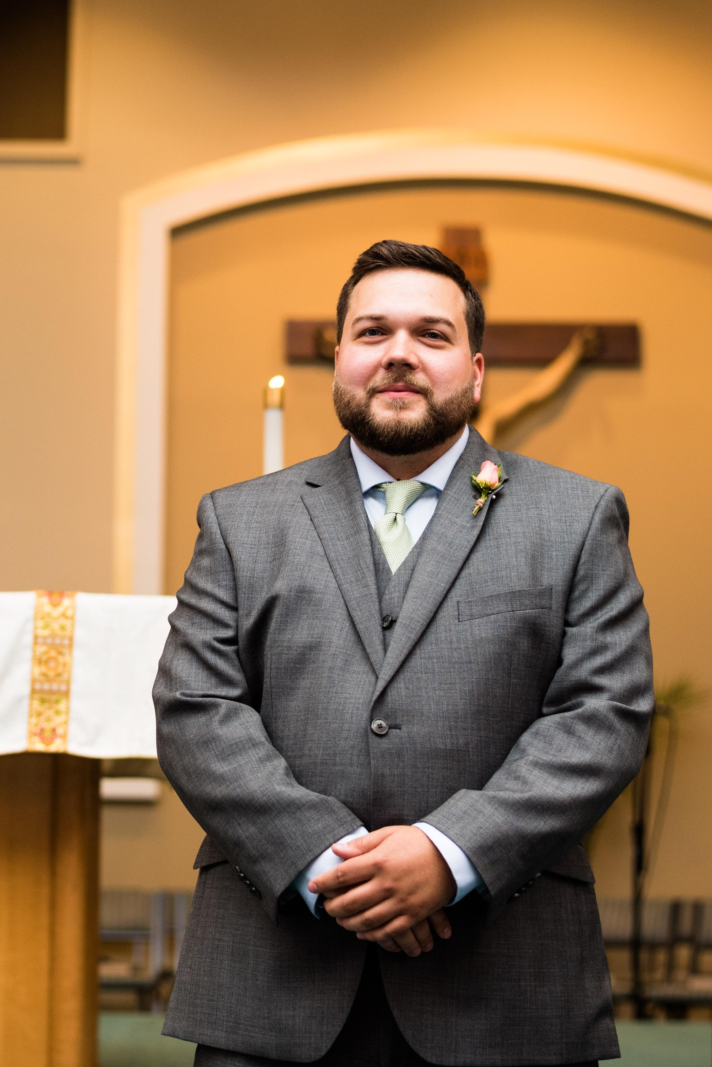 toledo church wedding photographer