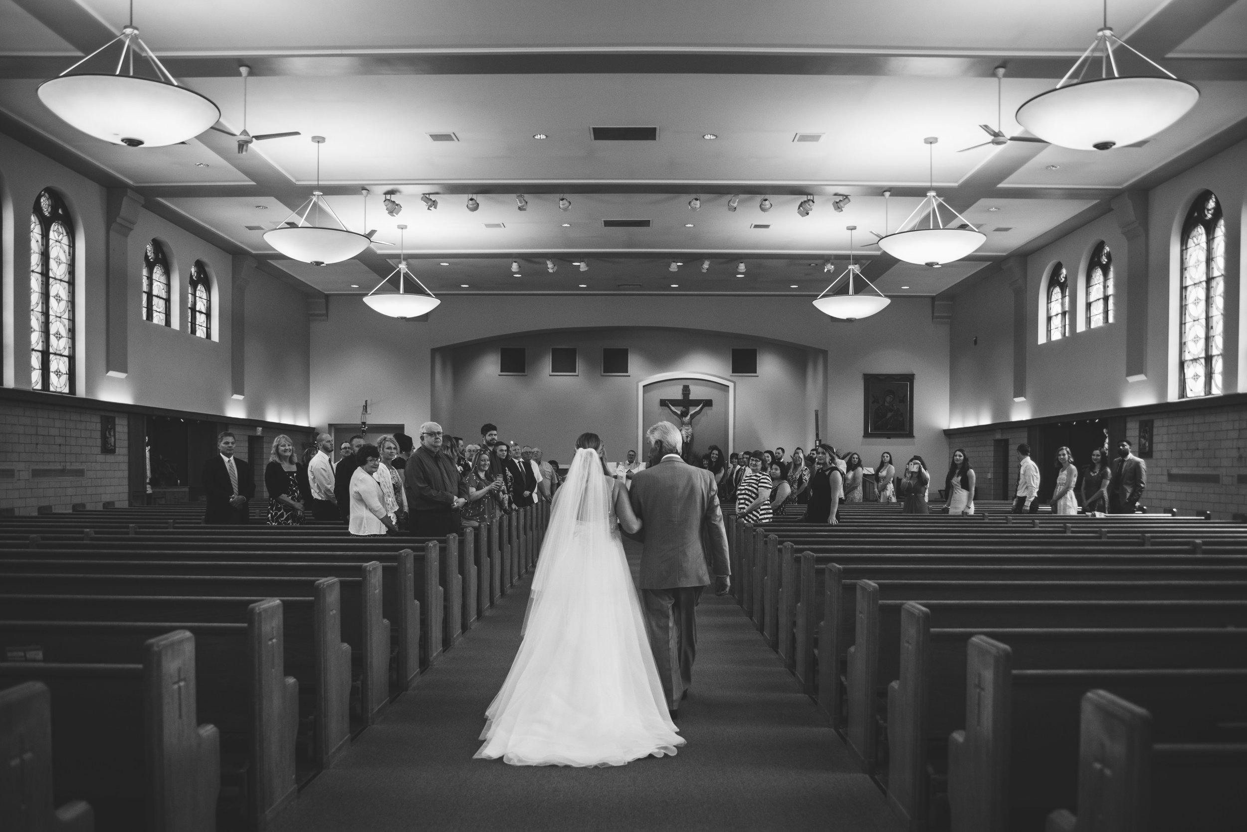 toledo church wedding photography