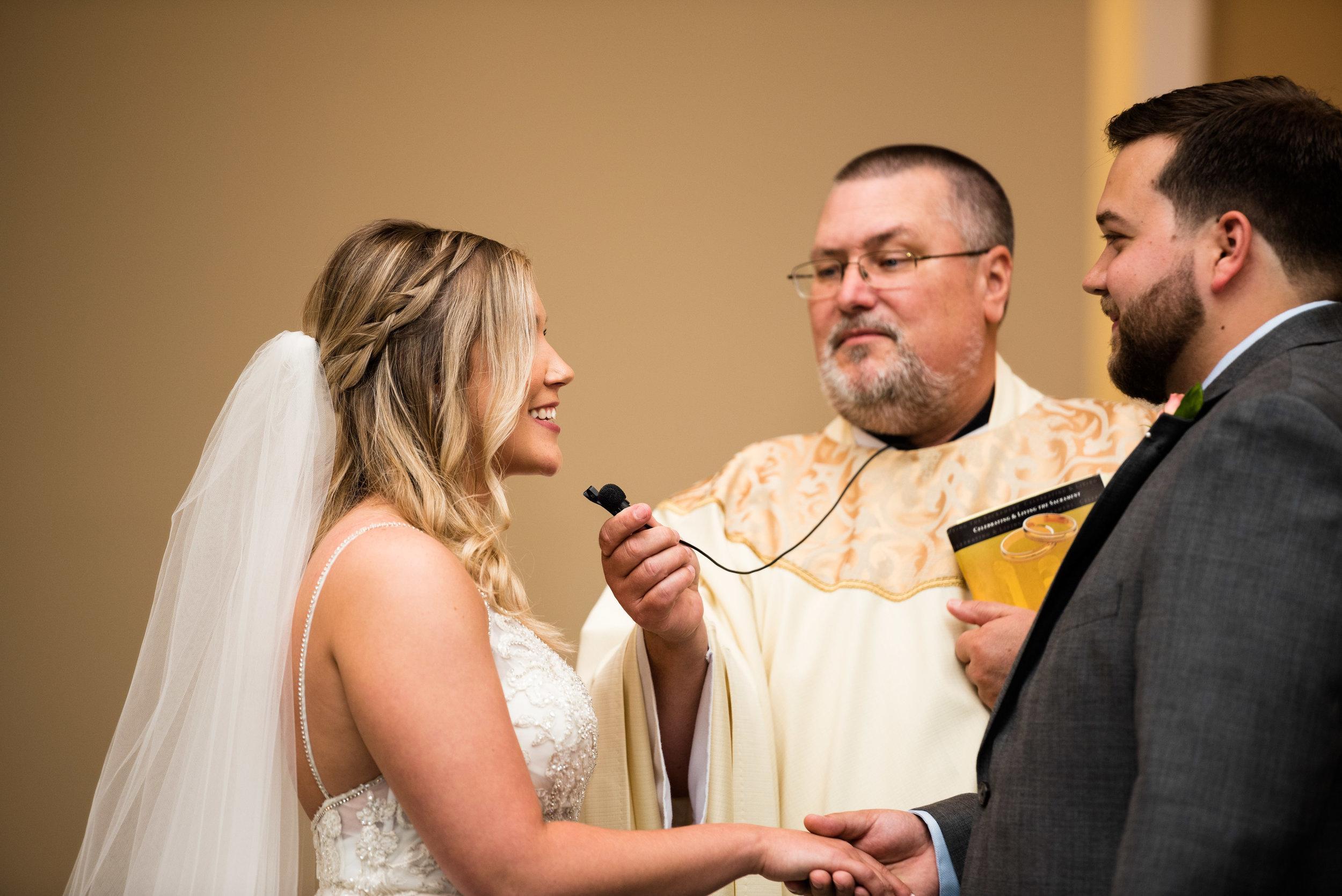 toledo wedding ceremony photographer