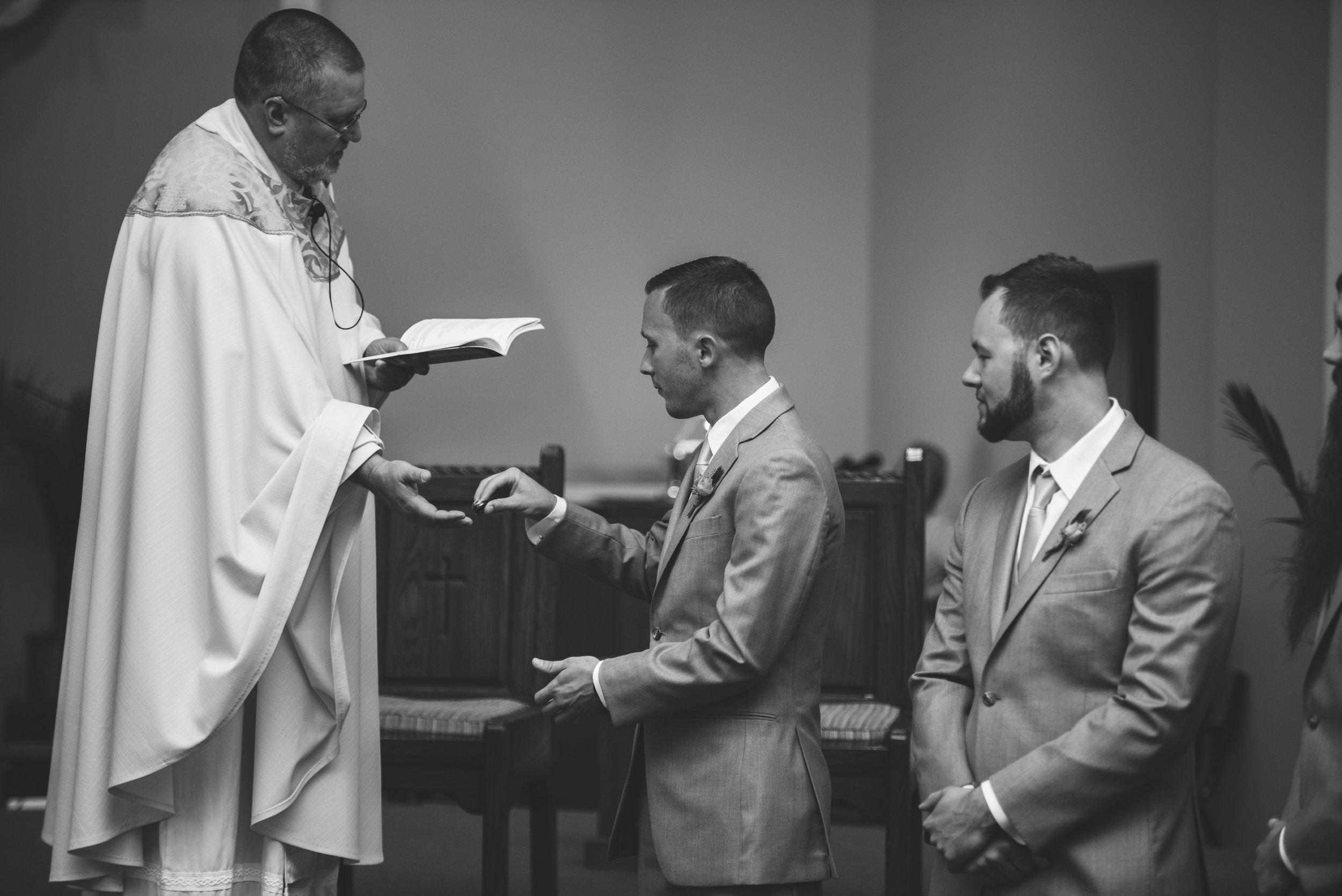 toledo wedding ceremony photos