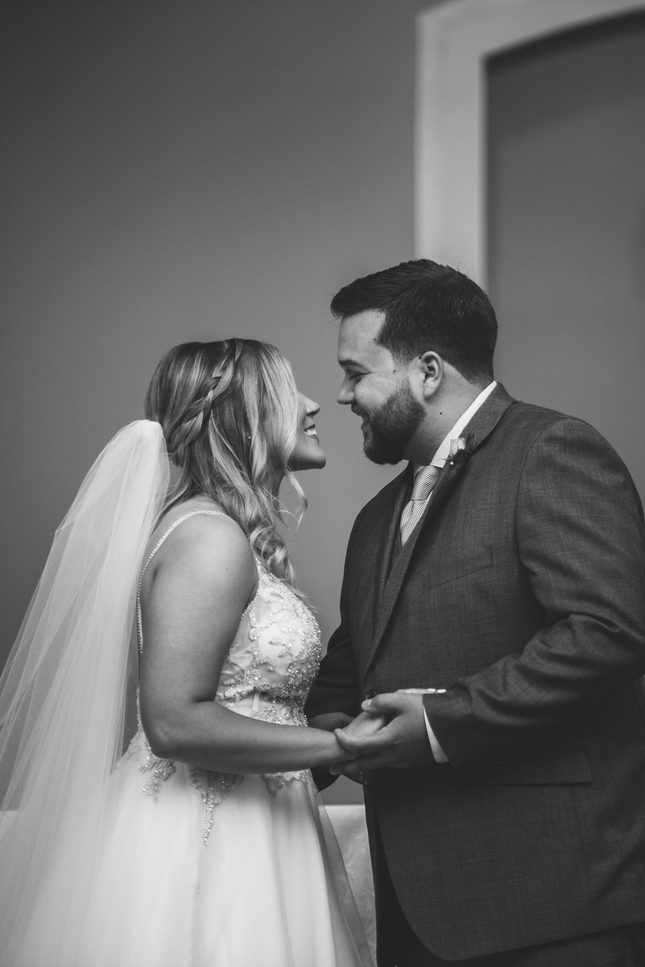 toledo ohio wedding ceremony photographer