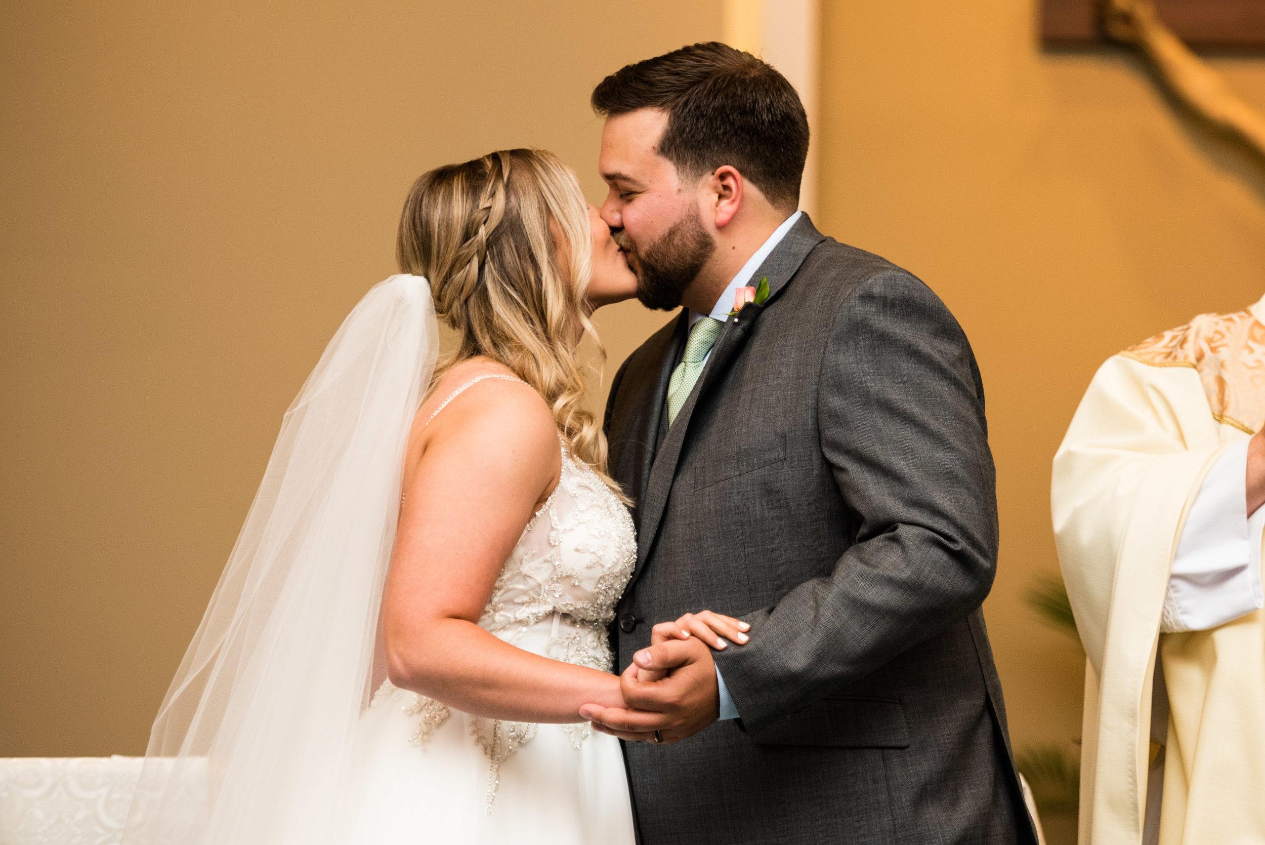 toledo ohio wedding ceremony photography