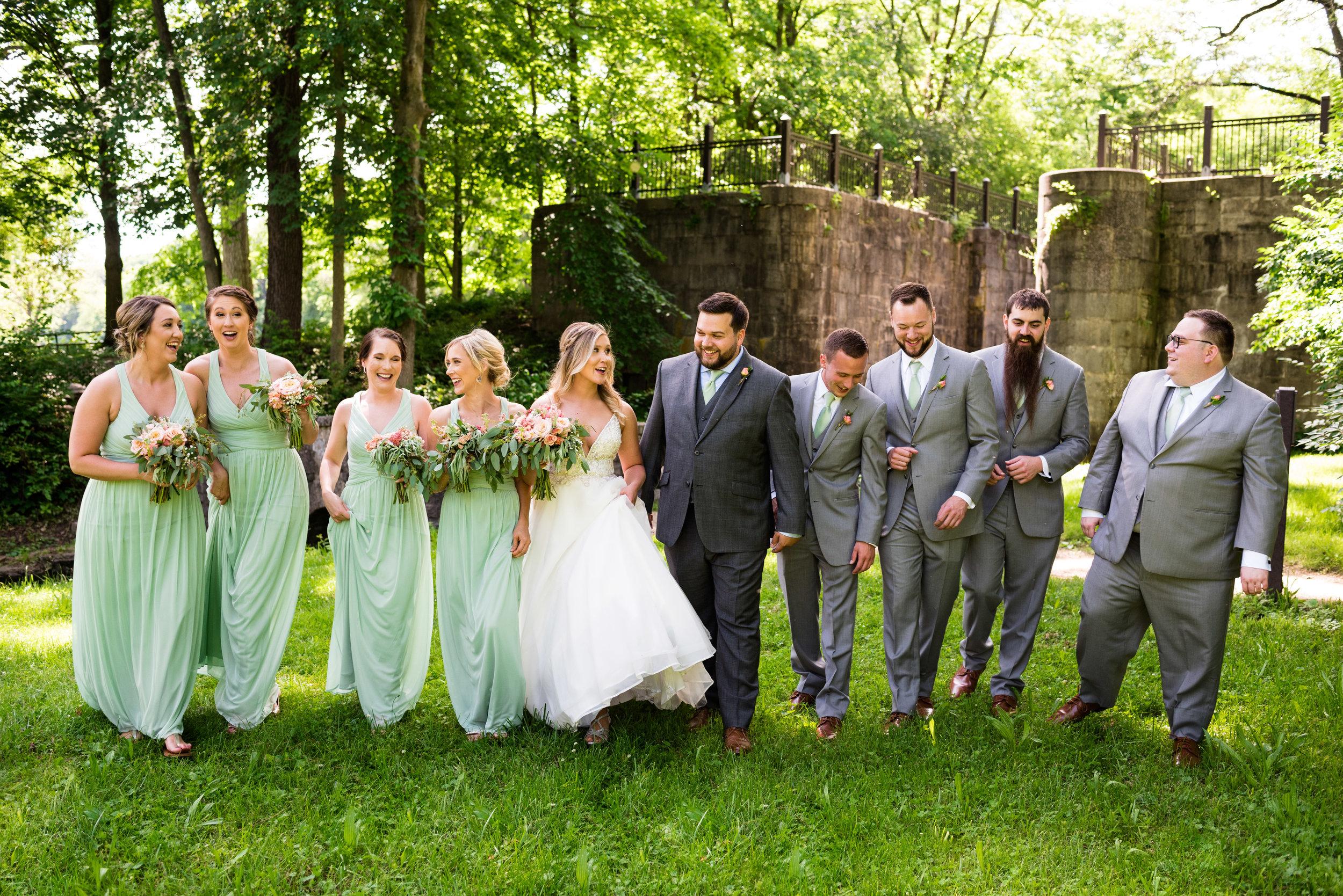 wedding photos in toledo ohio