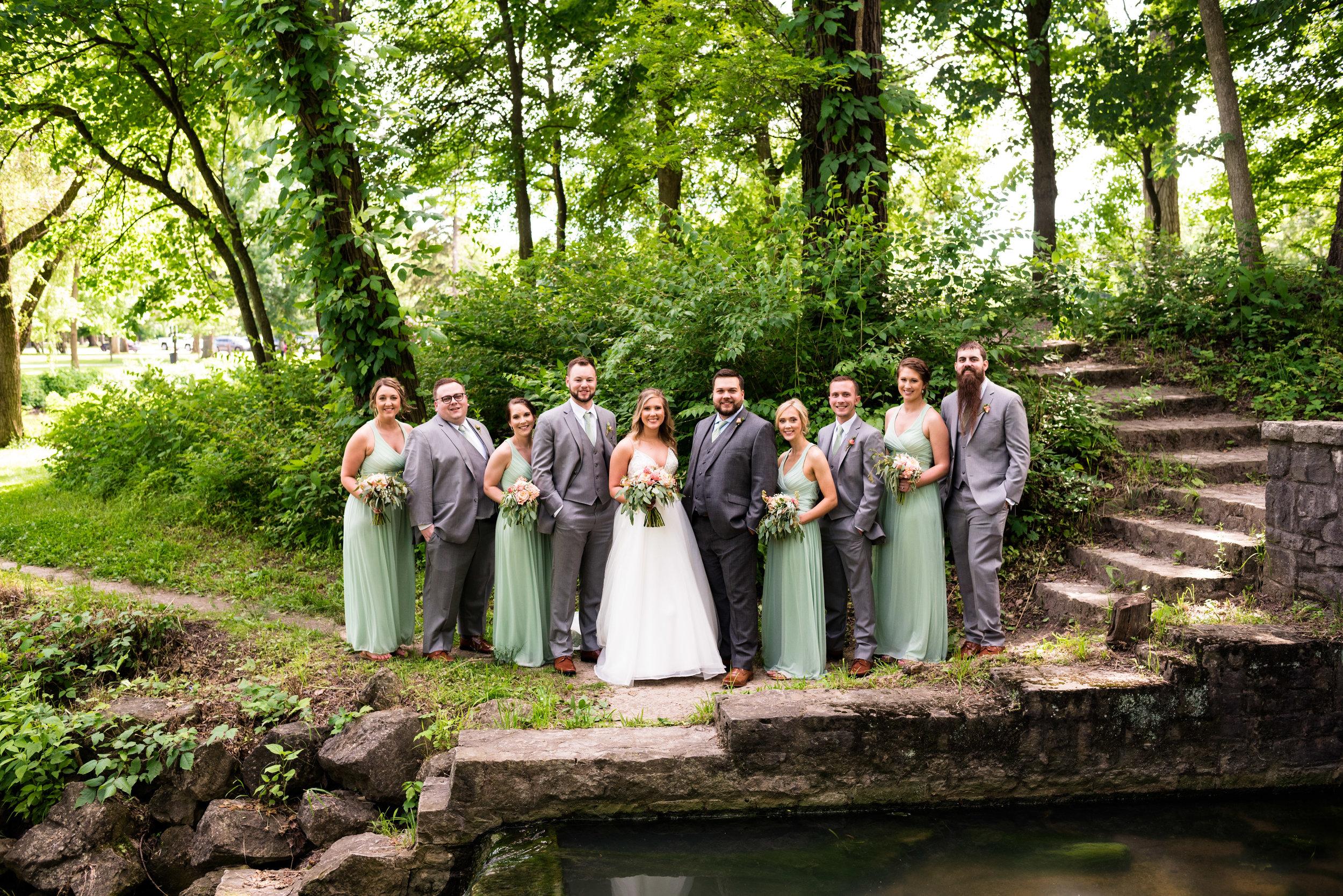 wedding photographer in toledo ohio