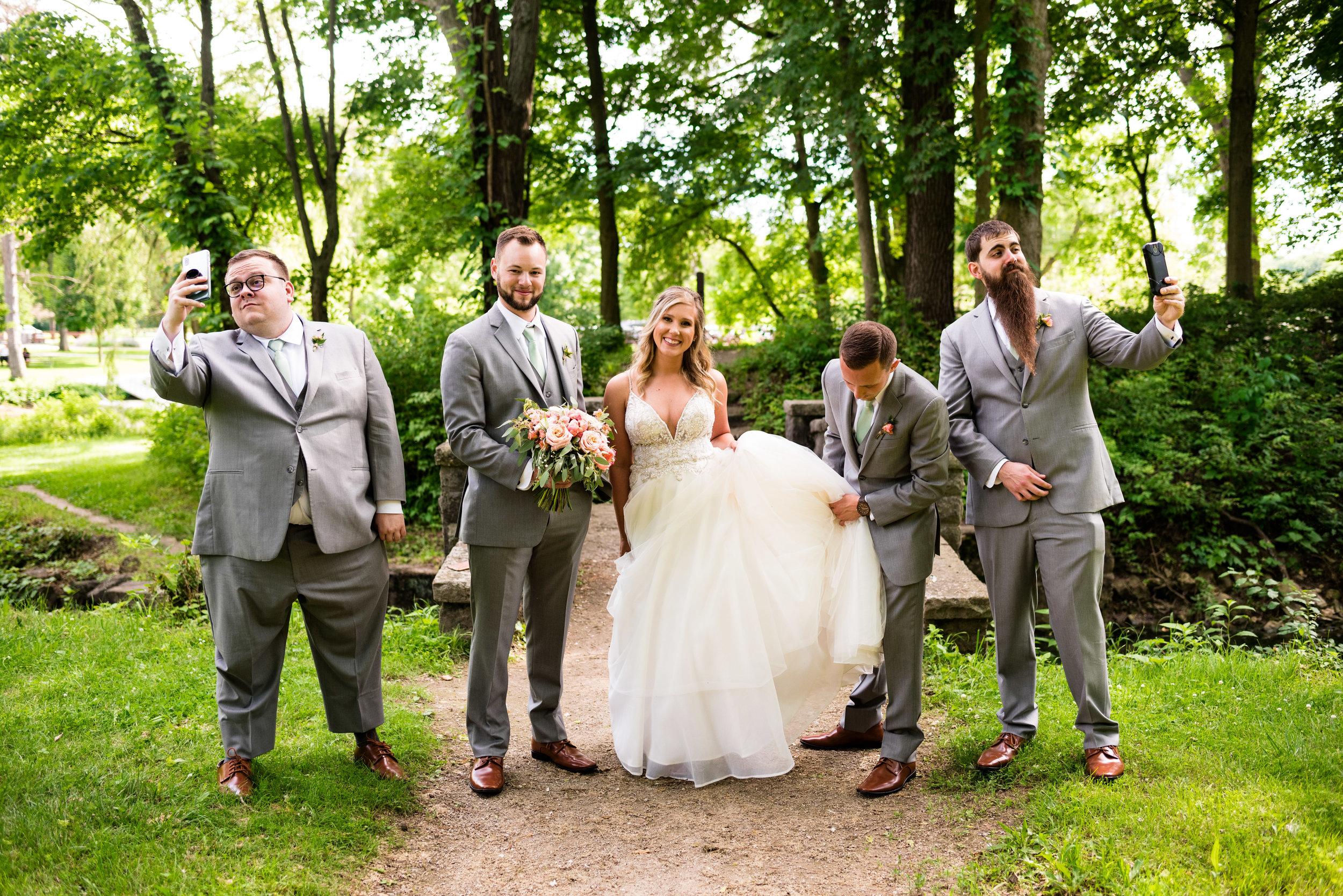 maumee ohio wedding photos