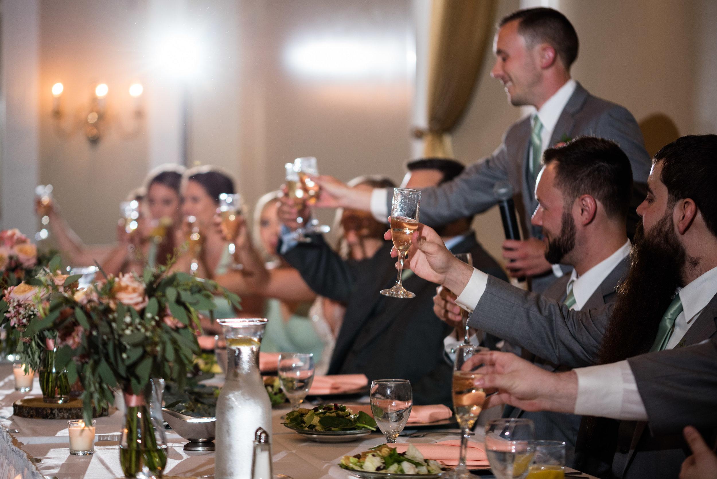 wedding toasts toledo