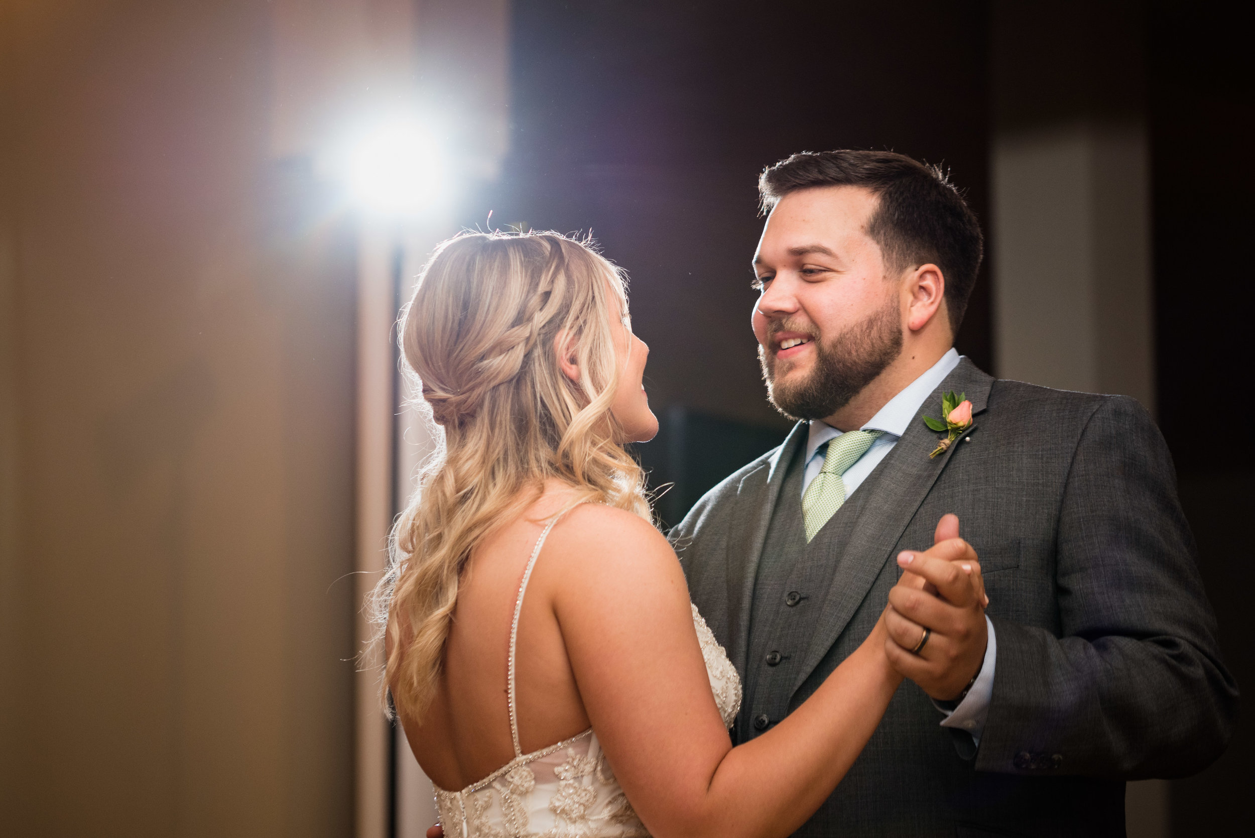 toledo wedding reception photography