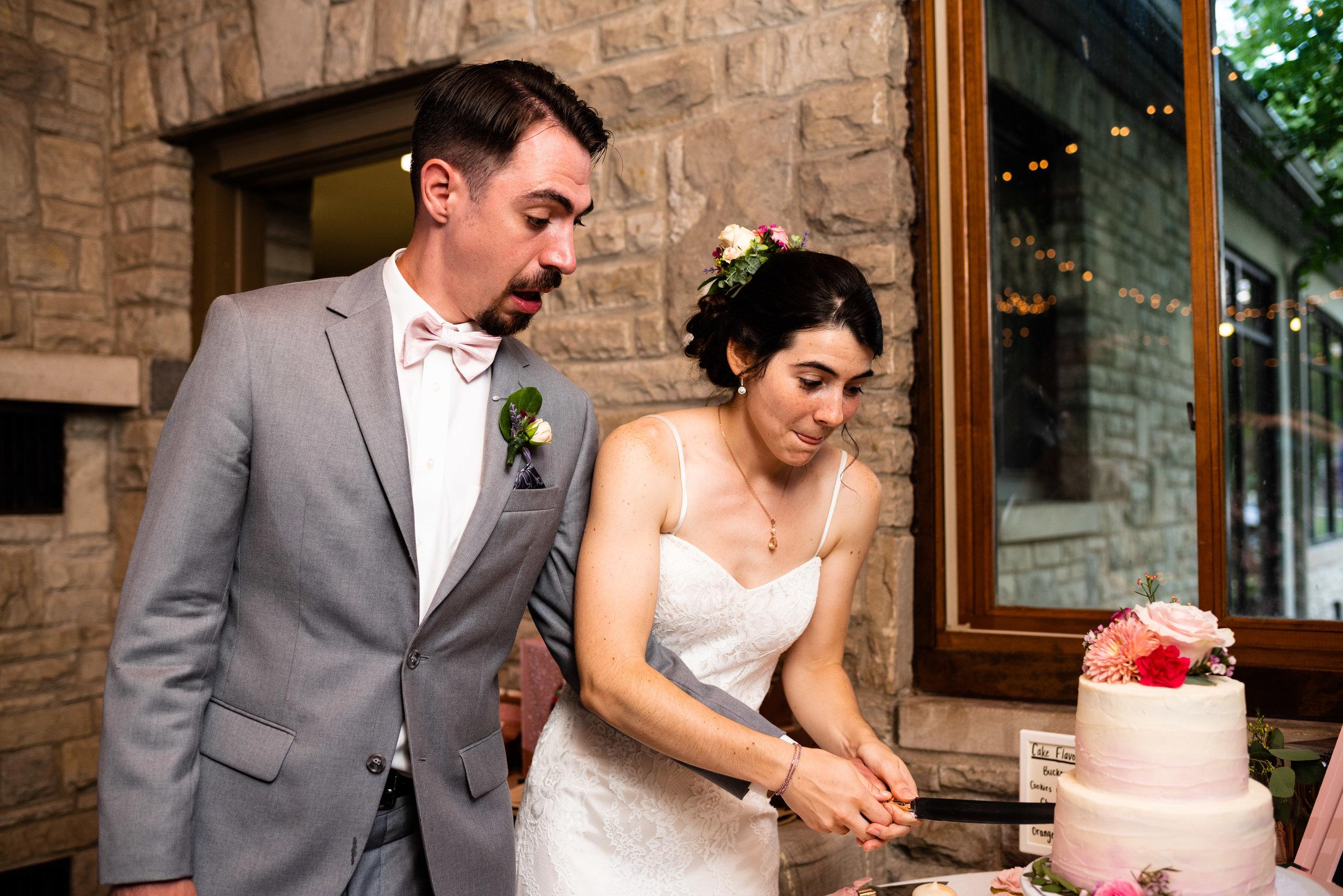 wood county wedding