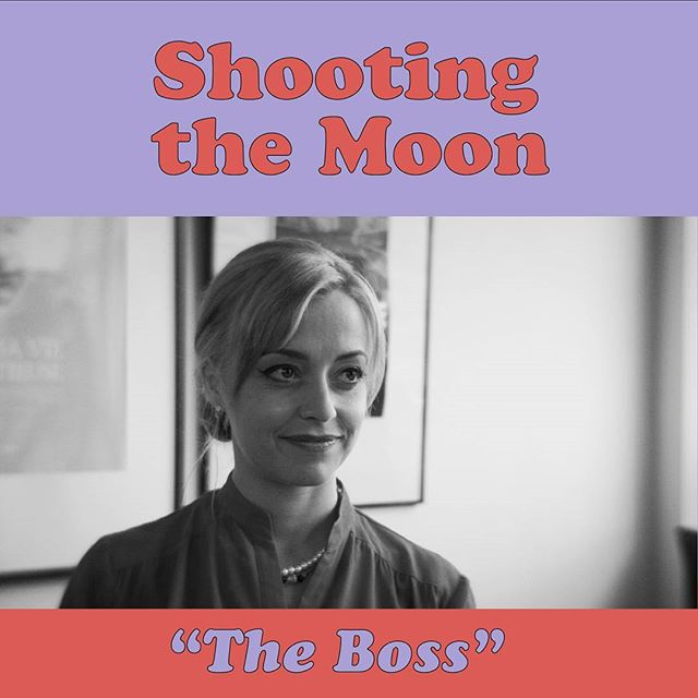 The lovely @zazgiroux plays the powerhouse producer who orchestrated one of the most terrifying job interviews in history. Catch her in episode 3 of #shootingthemoon #webseries #montreal #comedy