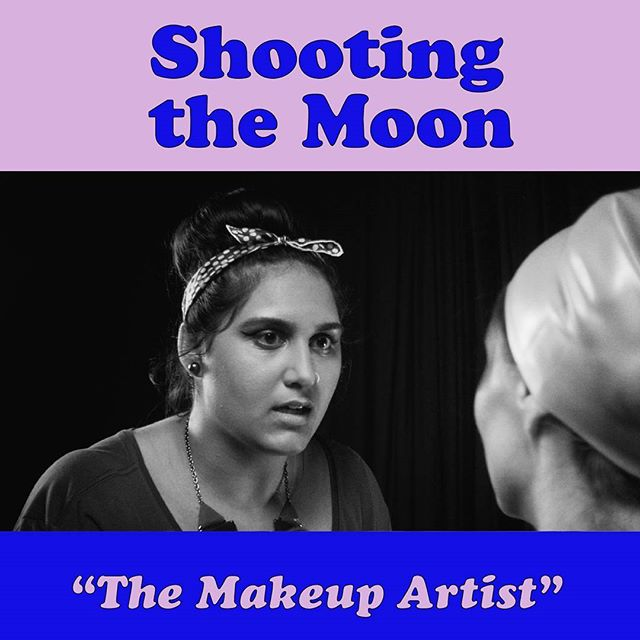 @sbsehar plays a savy L.A makeup artist on @lapointedly 's first big film shoot in episode 5 of #shootingthemoon #webseries