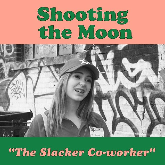@stephanie.janus plays that co-worker who should be fired in episodes 1, 2, and 7 of #shootingthemoon #webseries #comedy #montreal